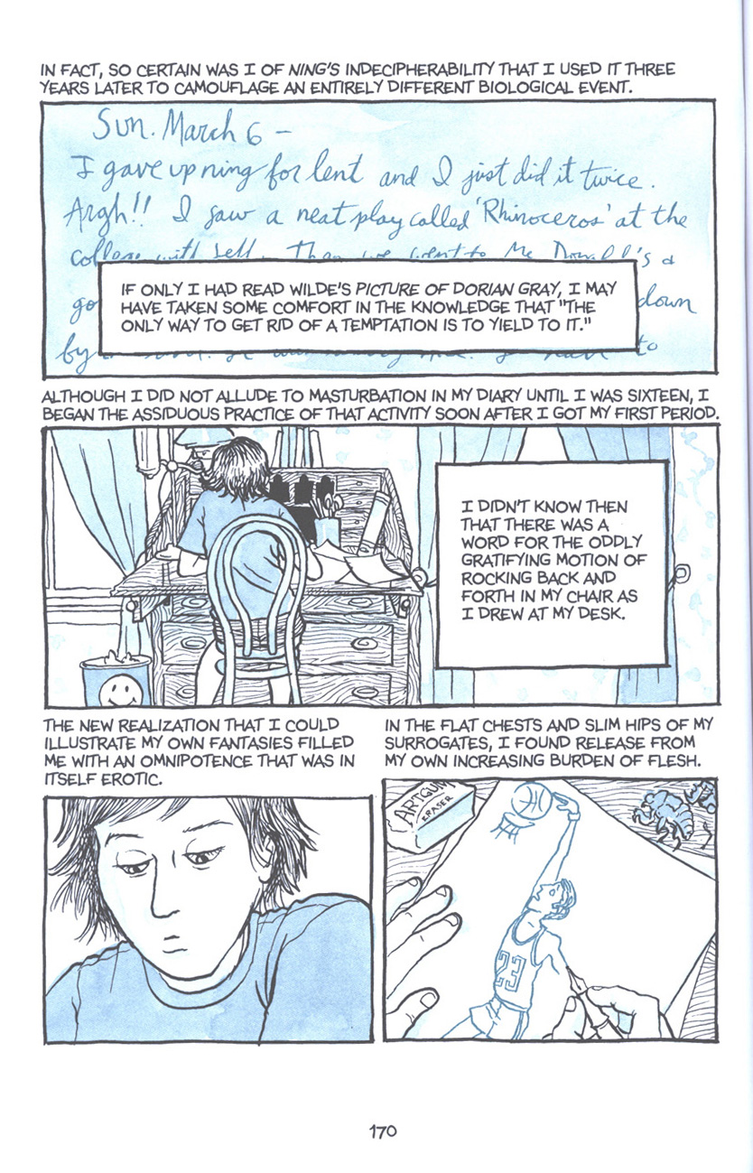 Read online Fun Home: A Family Tragicomic comic -  Issue # TPB - 176