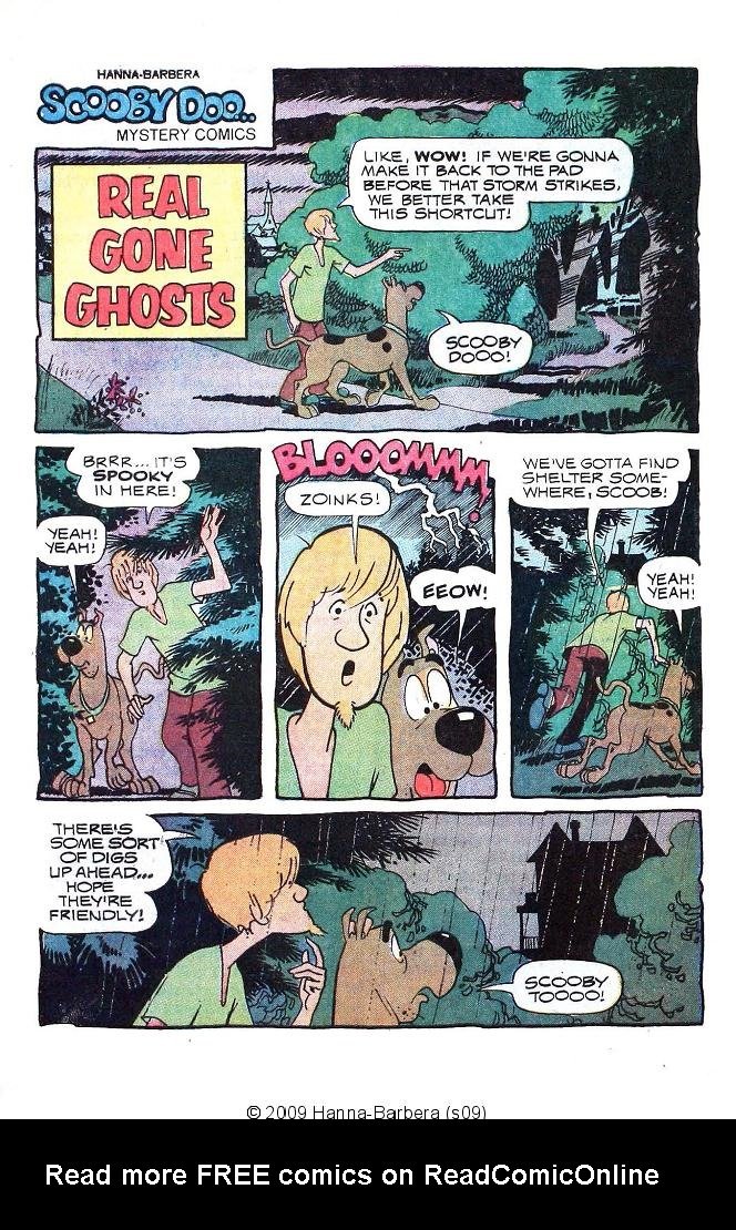 Read online Scooby-Doo... Mystery Comics comic -  Issue #19 - 28