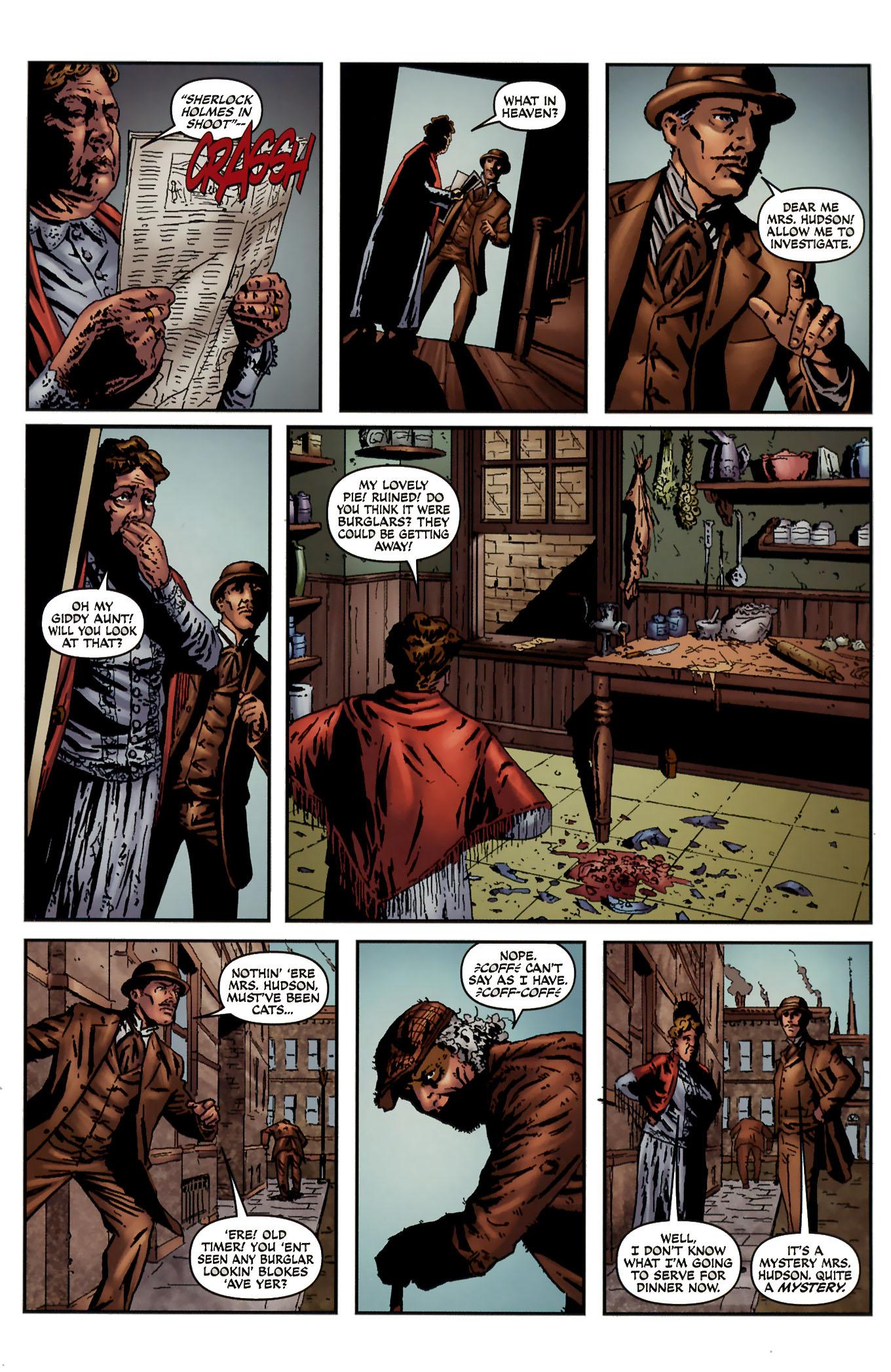 Read online Sherlock Holmes (2009) comic -  Issue #3 - 21