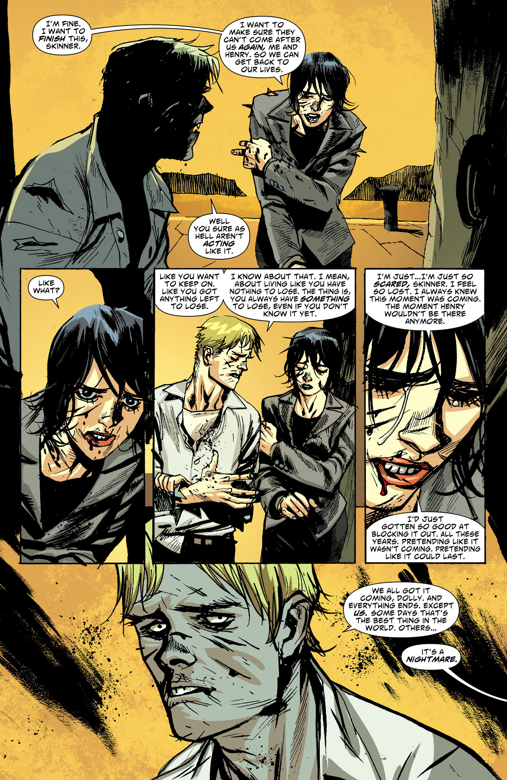 Read online American Vampire comic -  Issue #30 - 17