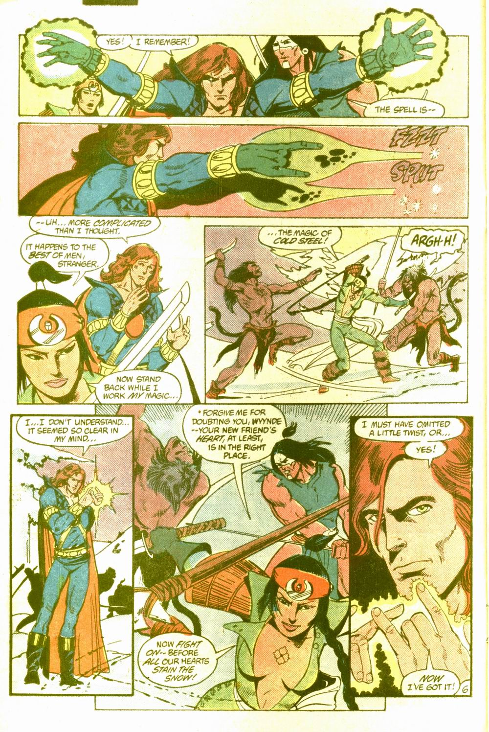 Read online Arion, Lord of Atlantis comic -  Issue #5 - 7