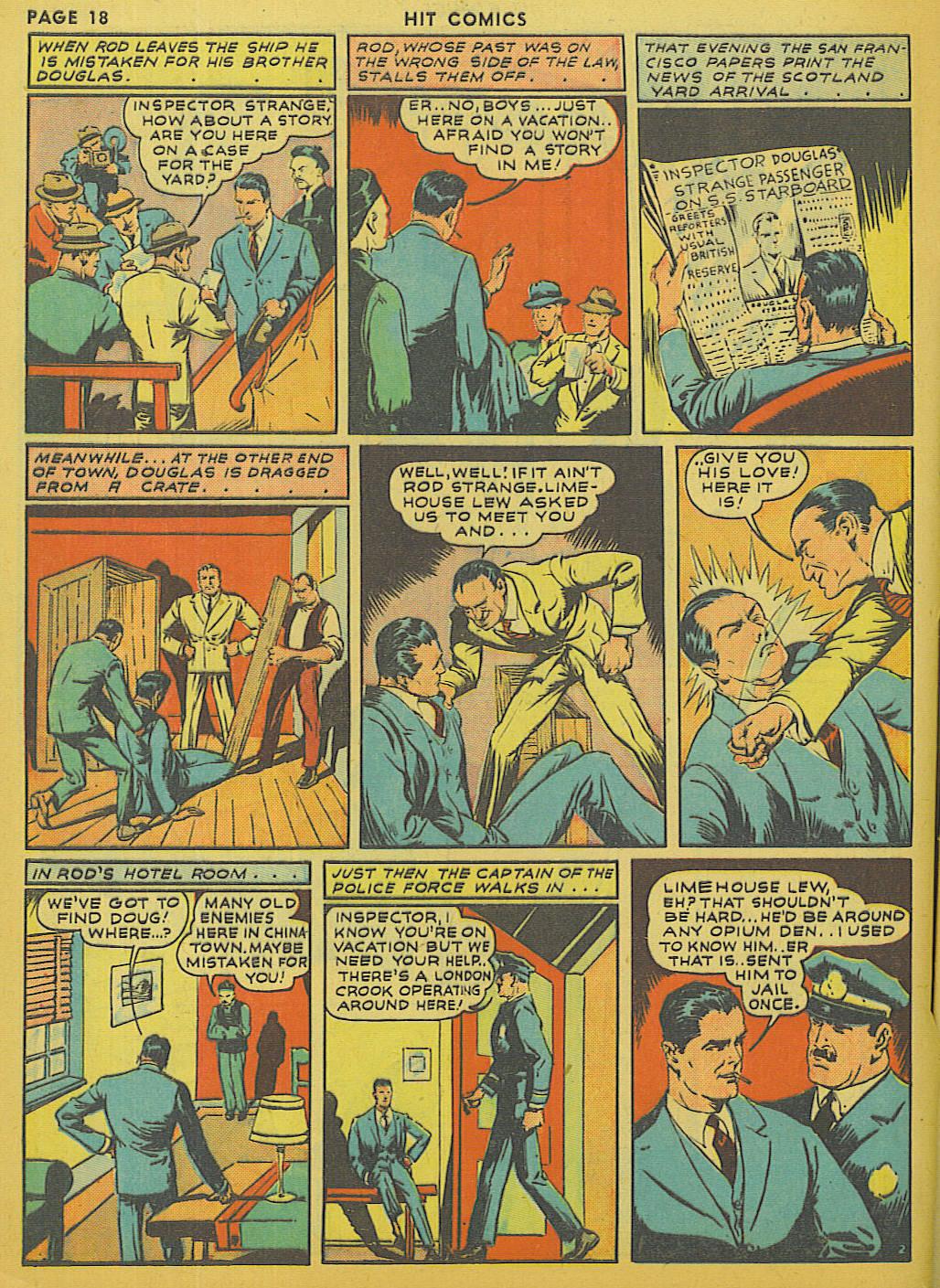 Read online Hit Comics comic -  Issue #13 - 20