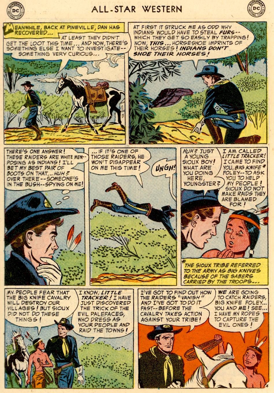 Read online All-Star Western (1951) comic -  Issue #73 - 22