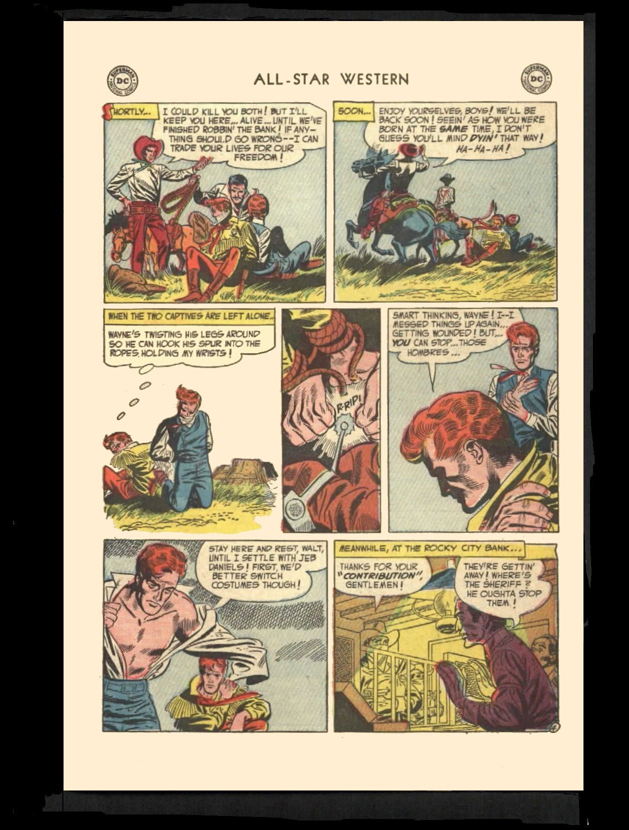 Read online All-Star Western (1951) comic -  Issue #72 - 31