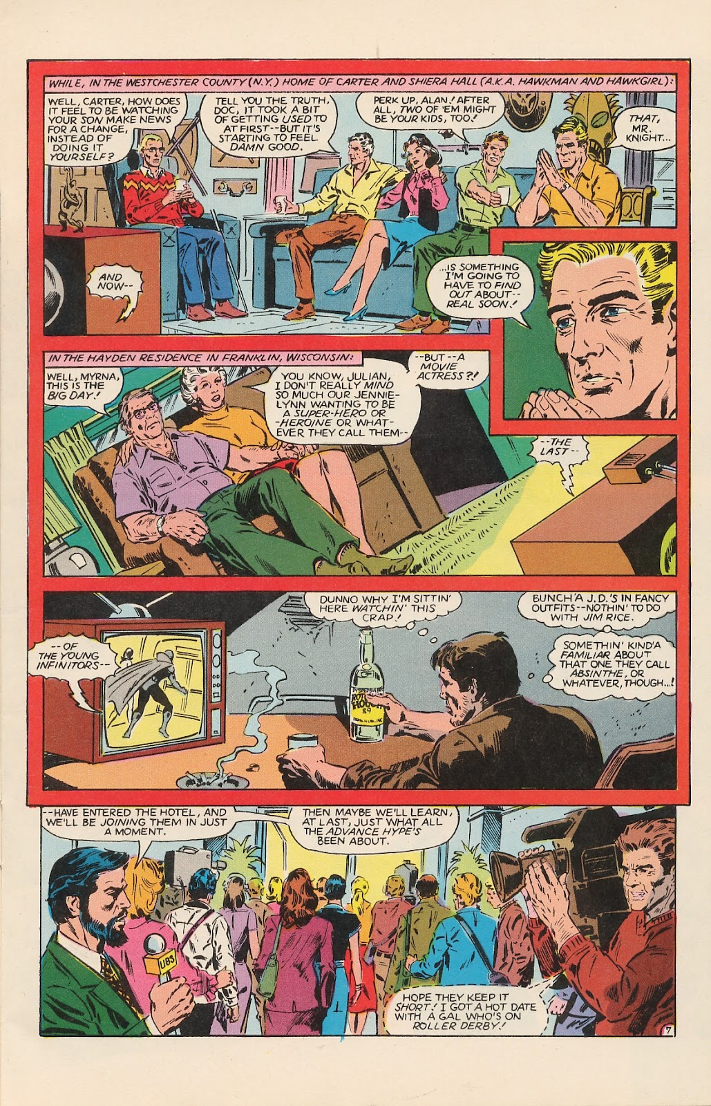 Infinity Inc. (1984) issue 12 - Page 11