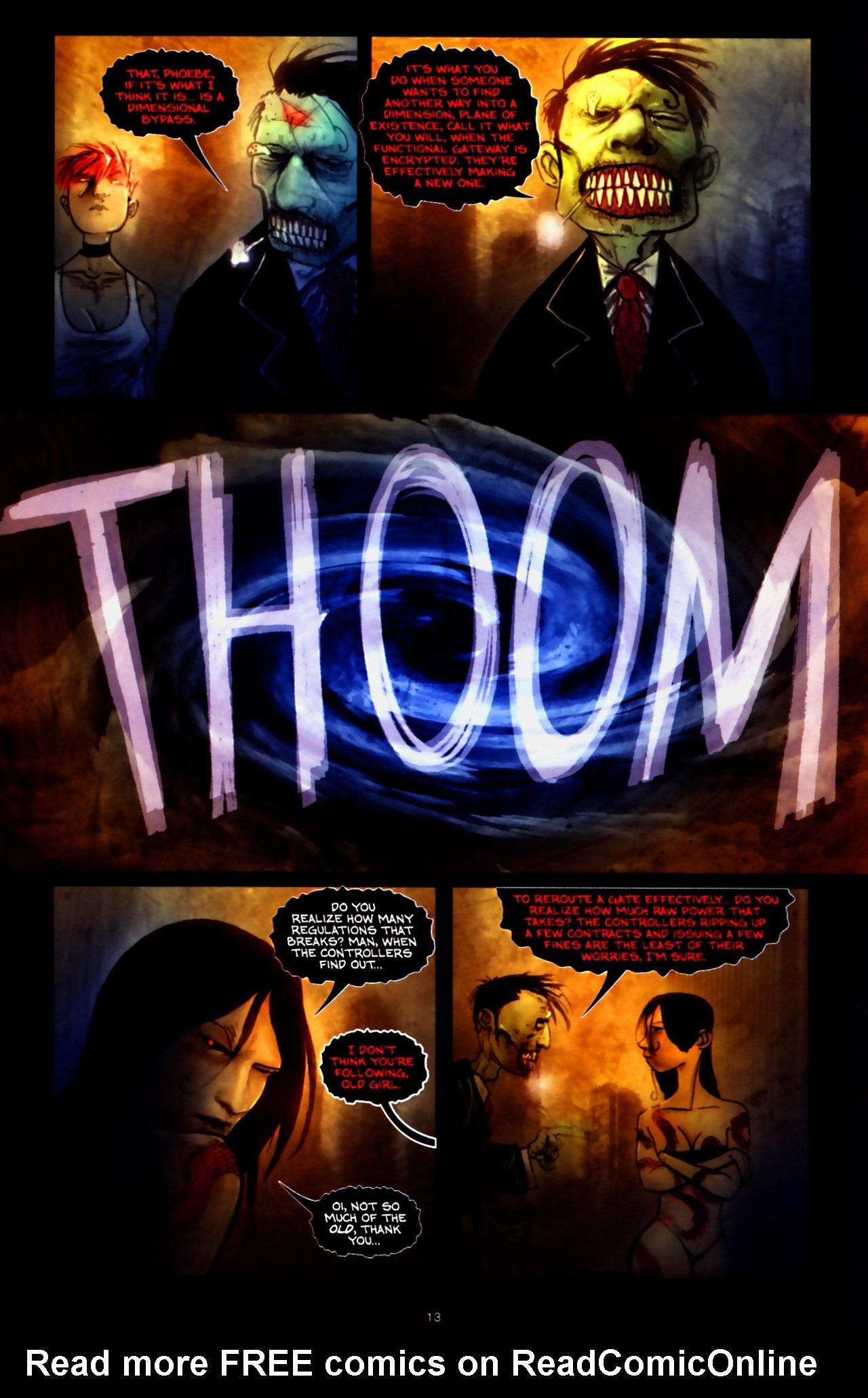 Read online Wormwood: Gentleman Corpse comic -  Issue #9 - 15