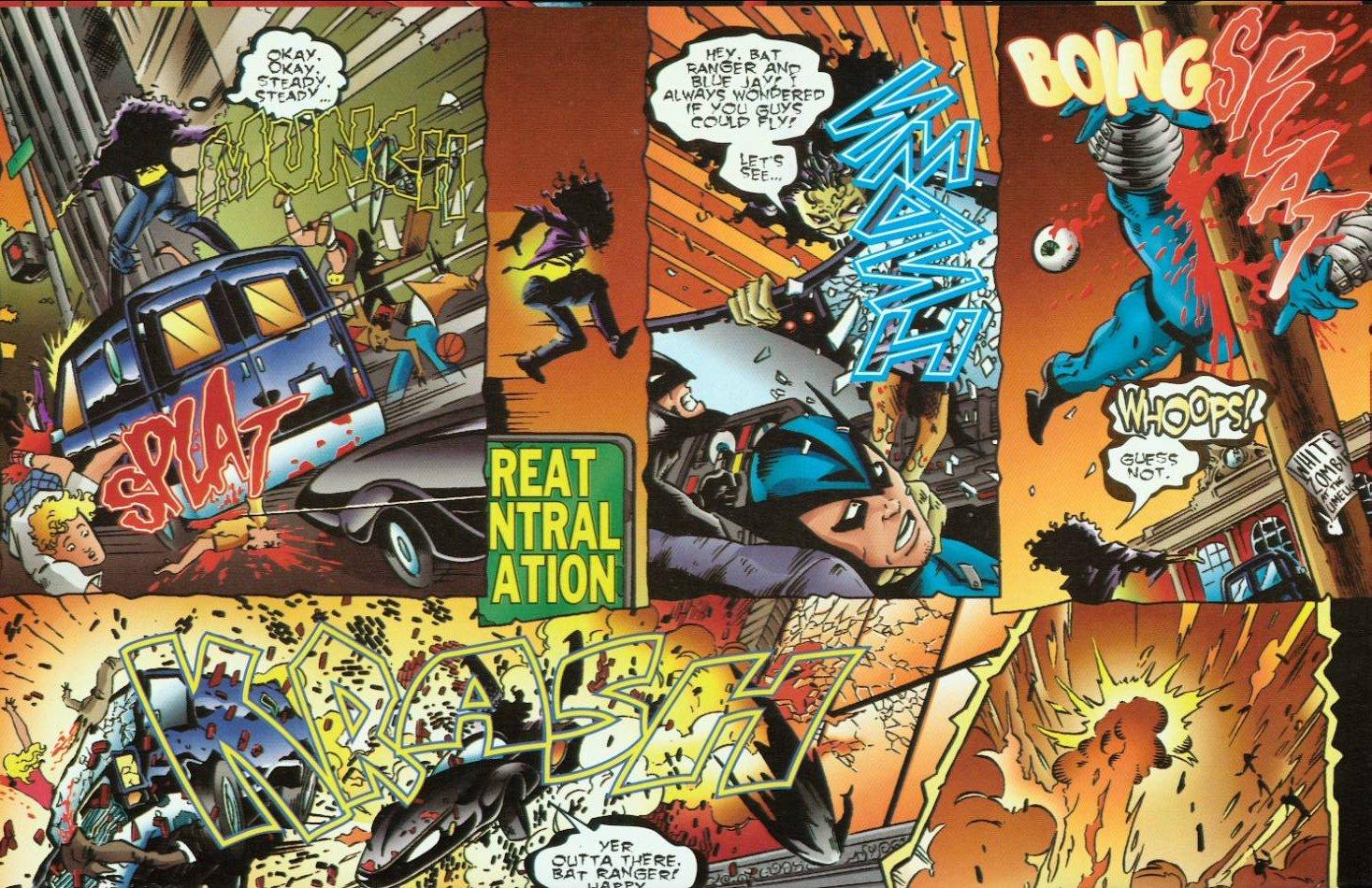 Read online Evil Ernie vs. the Superheroes comic -  Issue #1 - 16