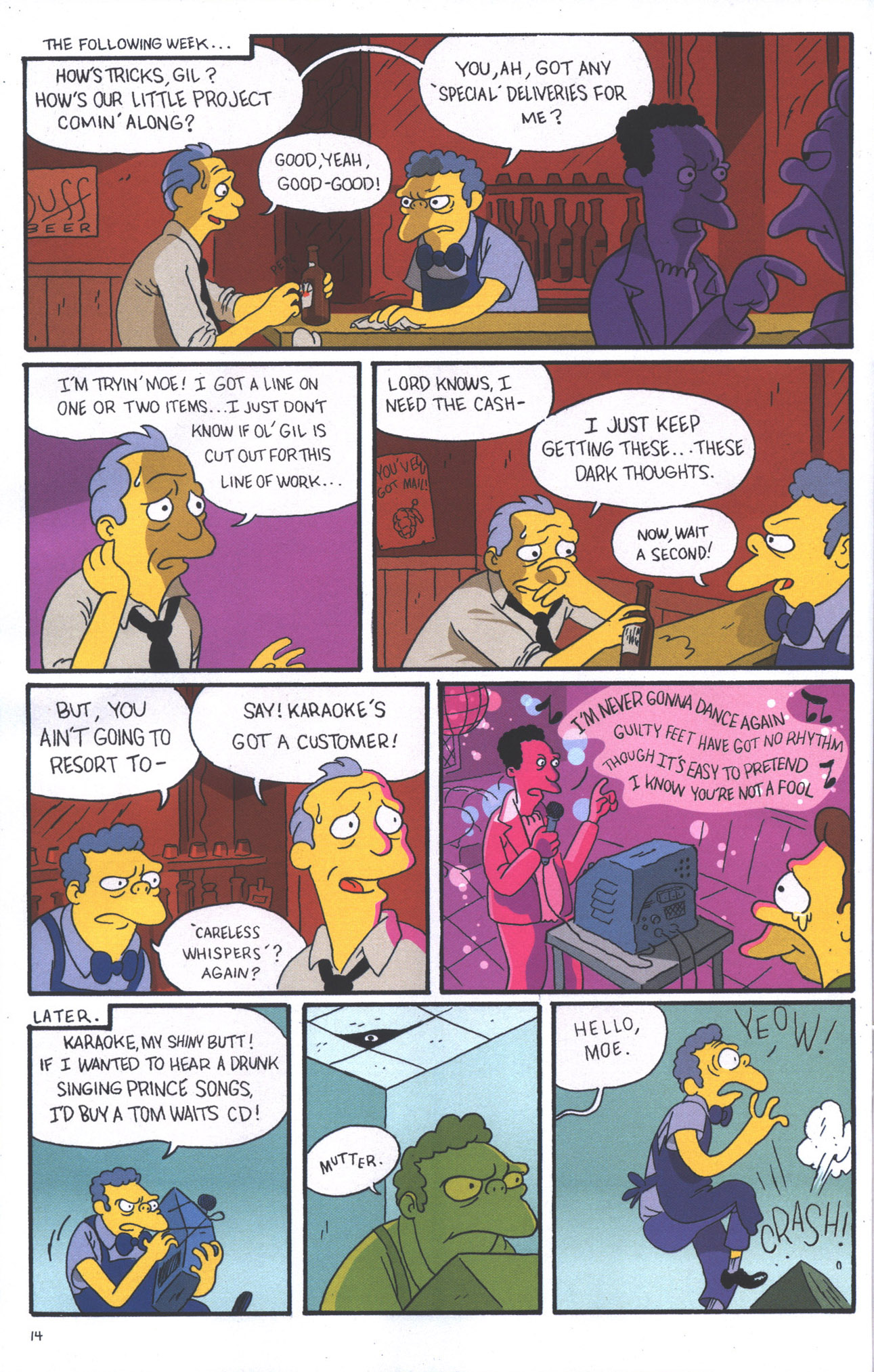 Read online Treehouse of Horror comic -  Issue #15 - 17