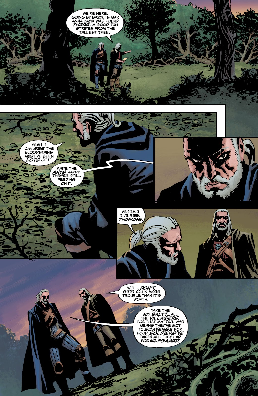 Read online The Witcher Omnibus comic -  Issue # TPB (Part 3) - 64