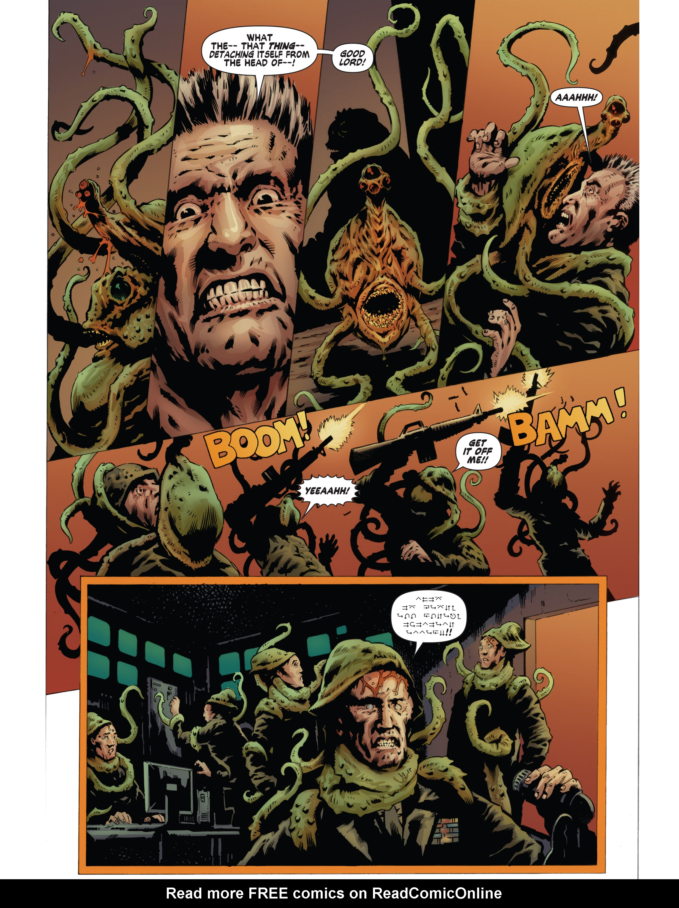 Read online Bad Planet comic -  Issue # TPB - 135