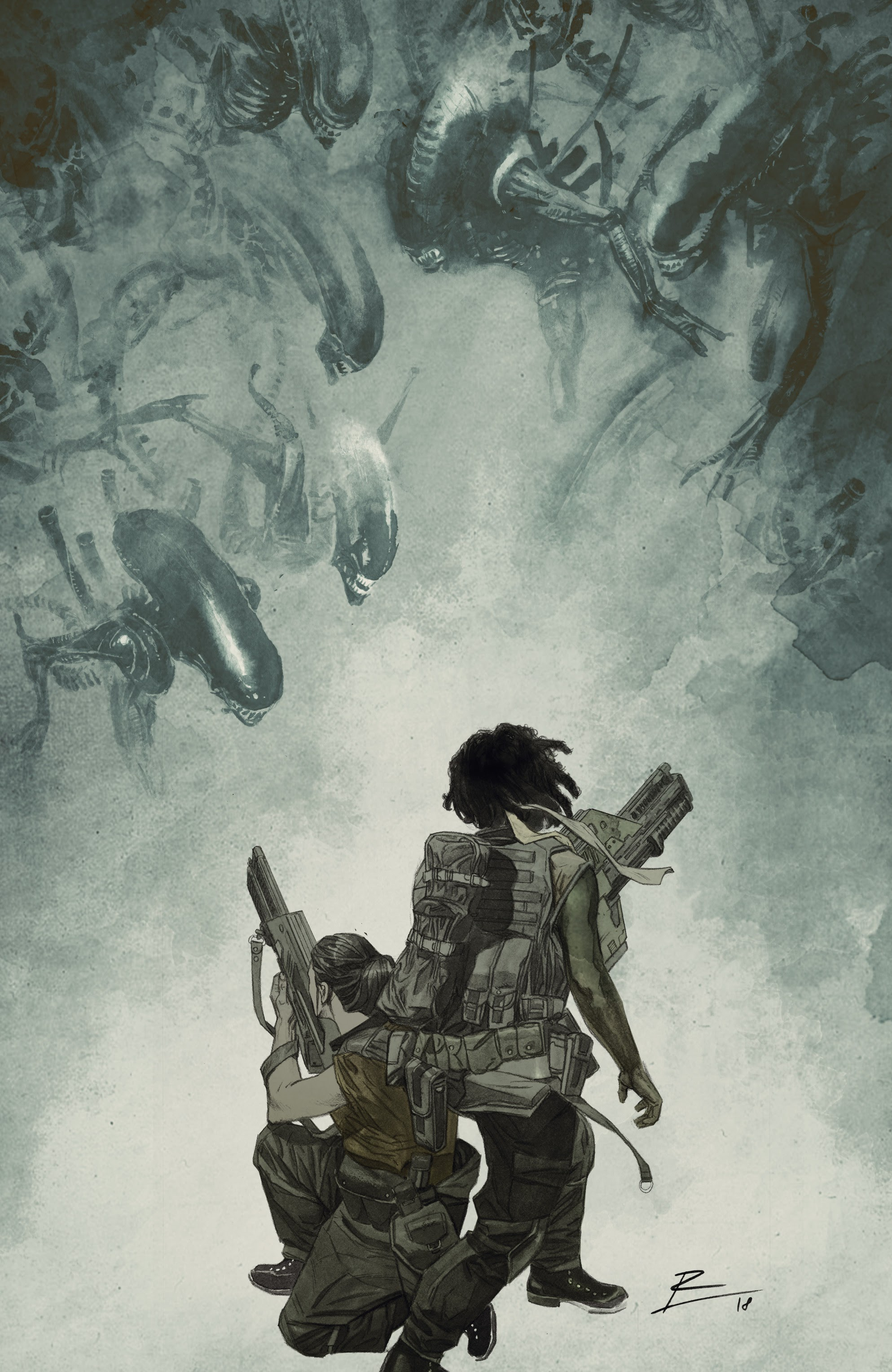 Read online Aliens: Resistance comic -  Issue # _TPB - 71