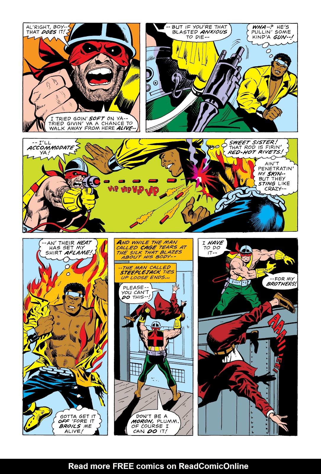 Read online Marvel Masterworks: Luke Cage, Power Man comic -  Issue # TPB 2 (Part 1) - 36