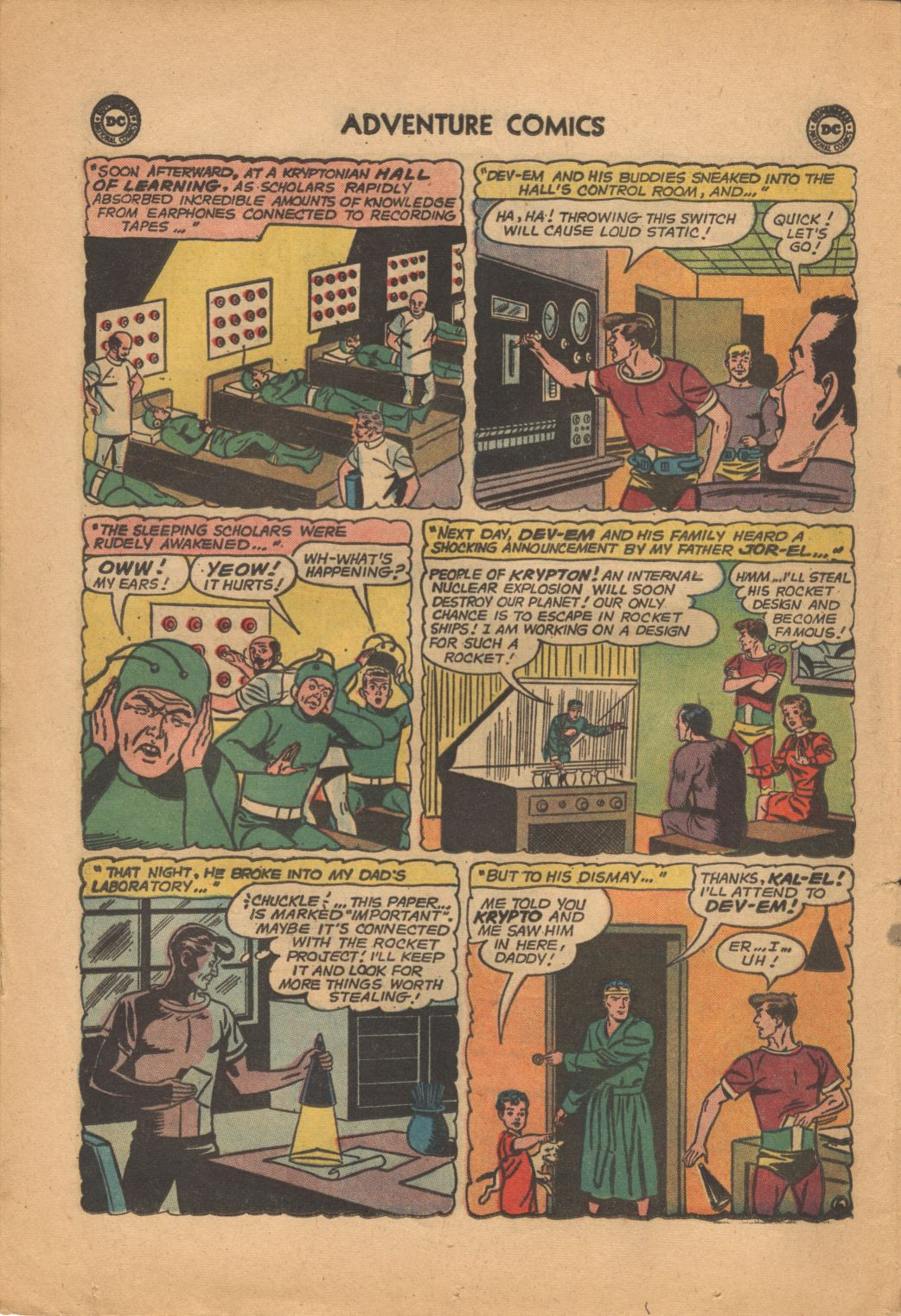 Read online Adventure Comics (1938) comic -  Issue #320 - 8