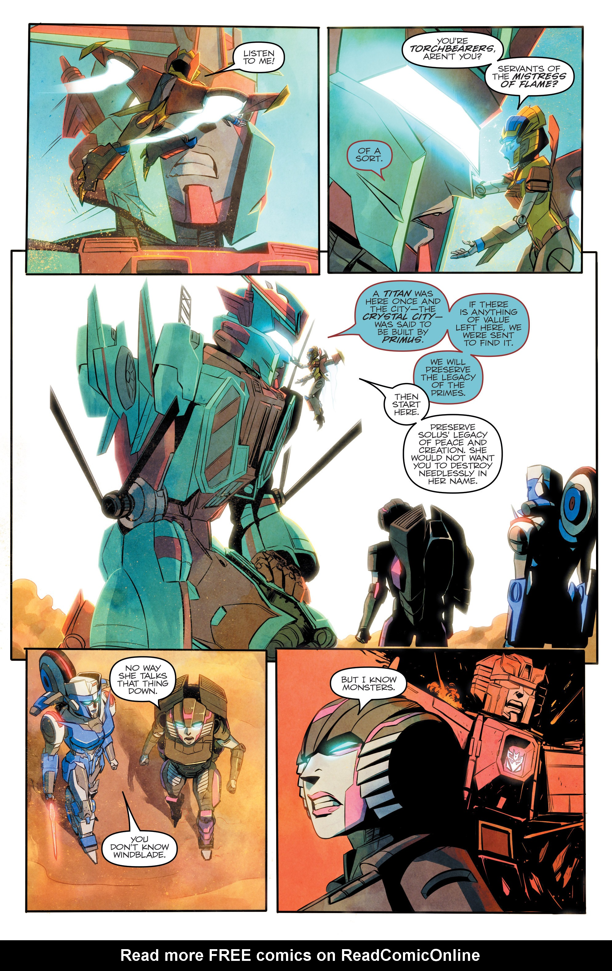 Read online Transformers: Combiner Hunters comic -  Issue # Full - 20