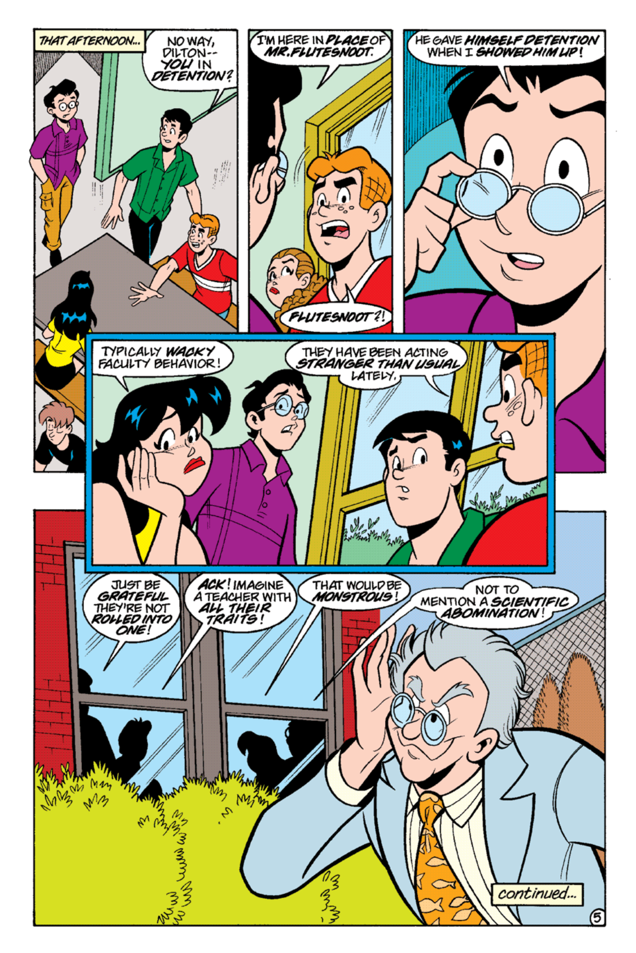 Read online Archie's Weird Mysteries comic -  Issue #16 - 7