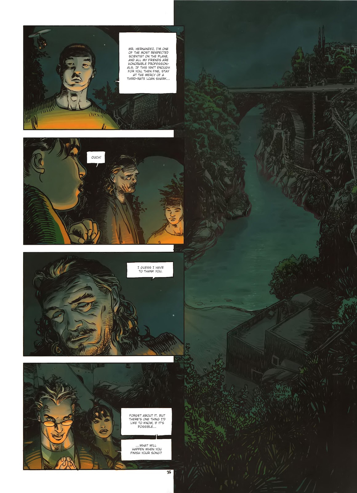 Read online Cutting Edge (2013) comic -  Issue #1 - 35