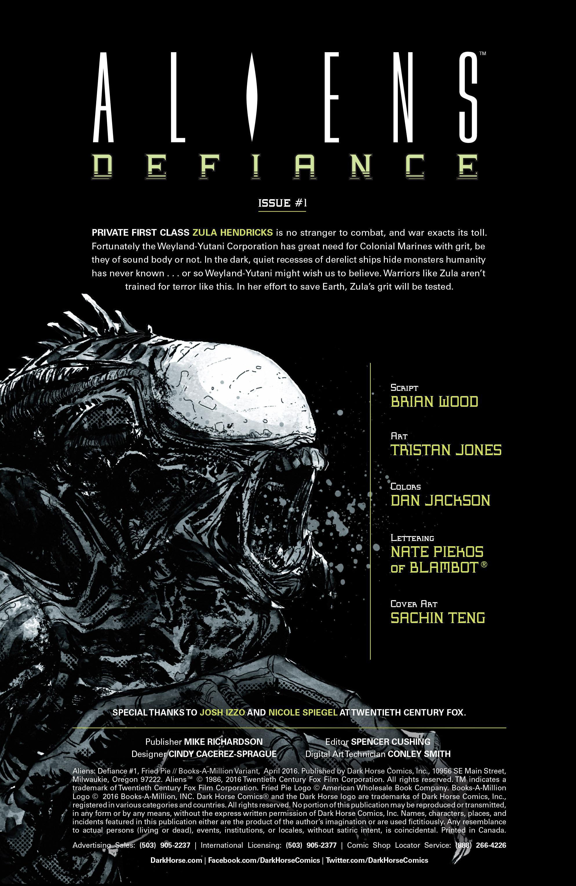 Read online Aliens: Defiance comic -  Issue #1 - 7