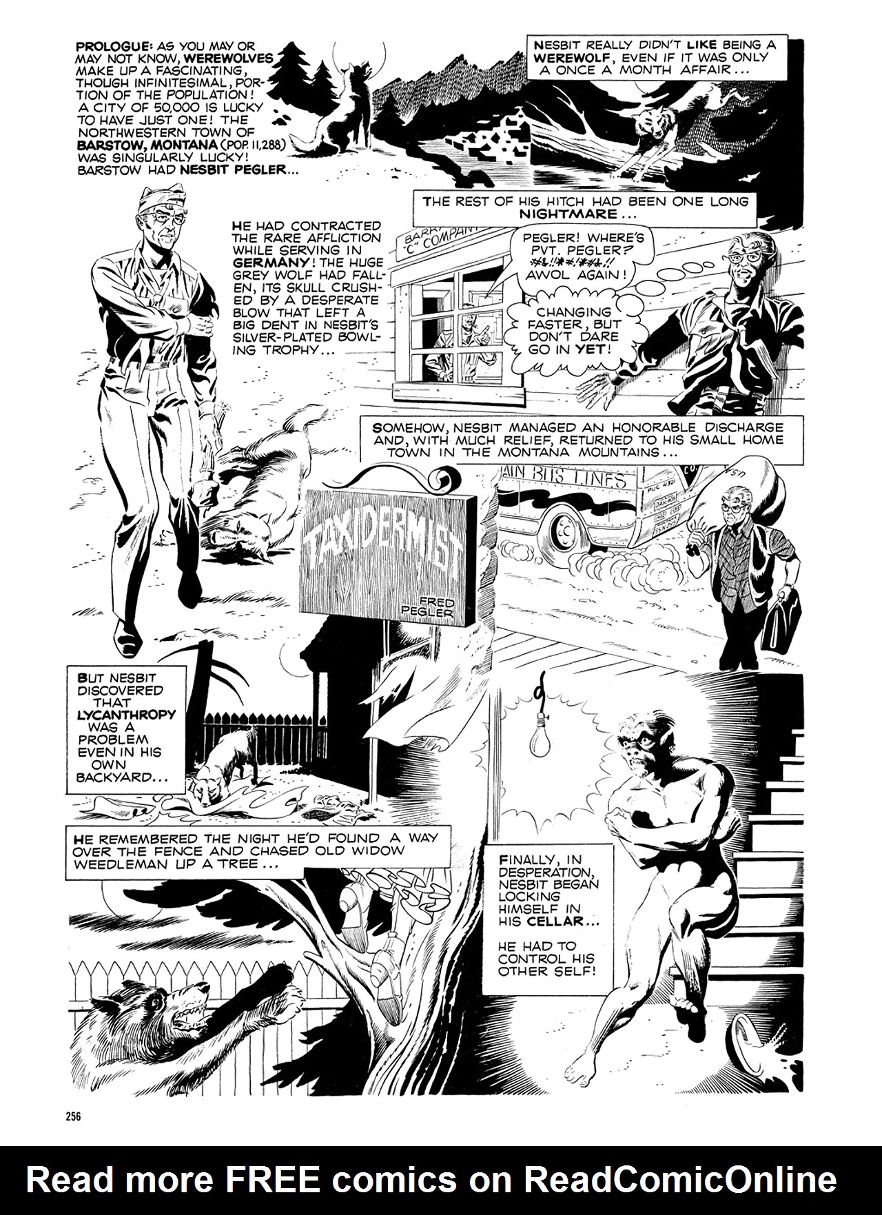 Read online Eerie Archives comic -  Issue # TPB 5 - 257