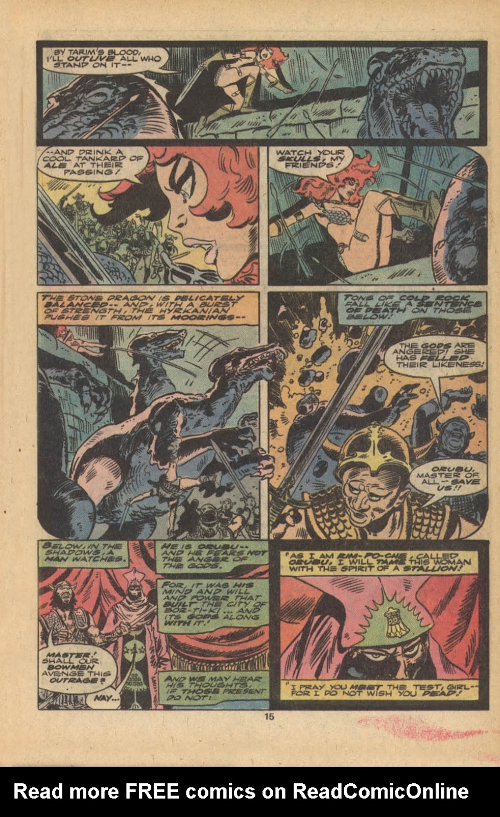 Red Sonja (1977) issue 5 - Page 10