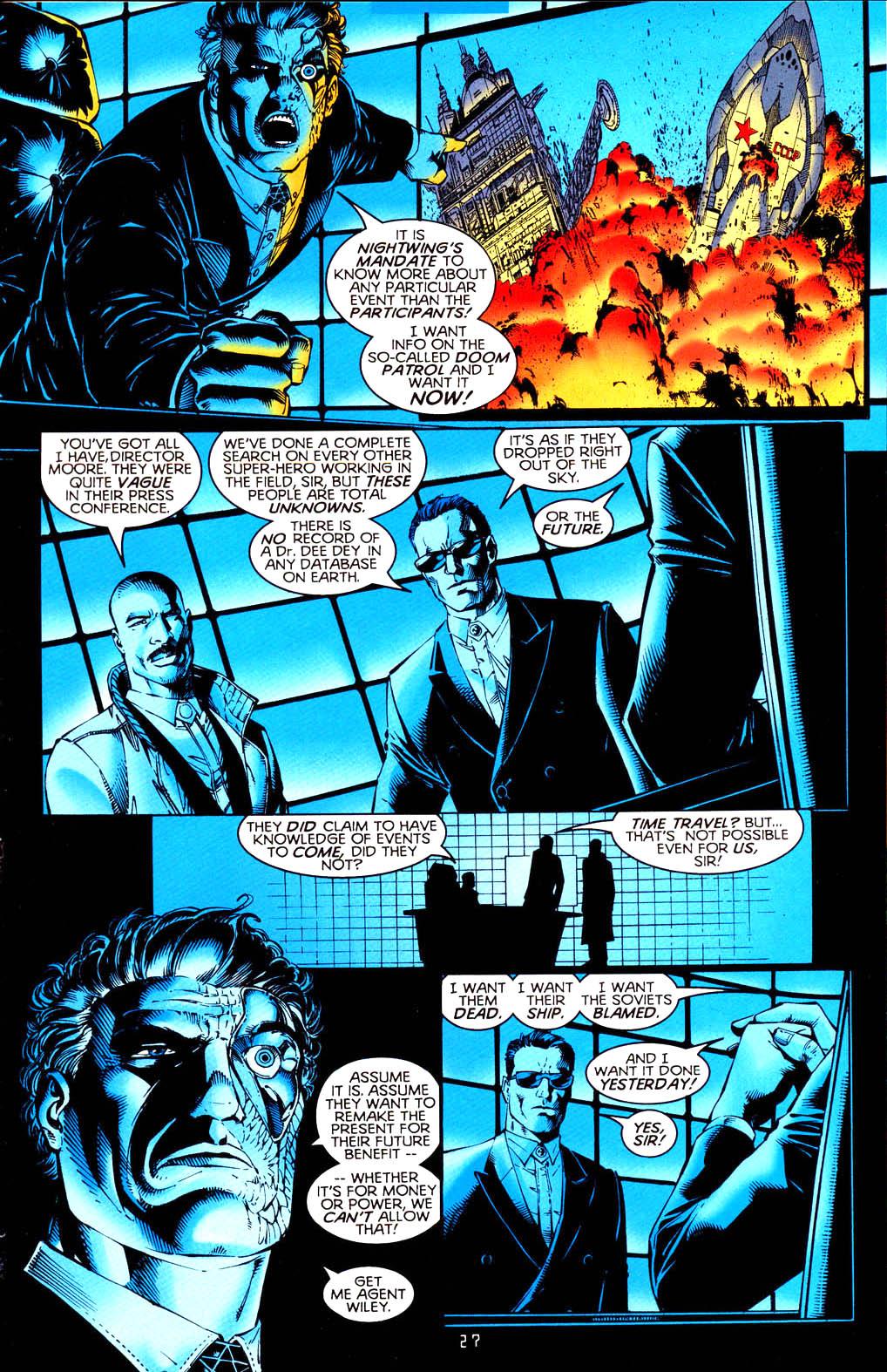 Read online Tangent Comics/ Doom Patrol comic -  Issue # Full - 28