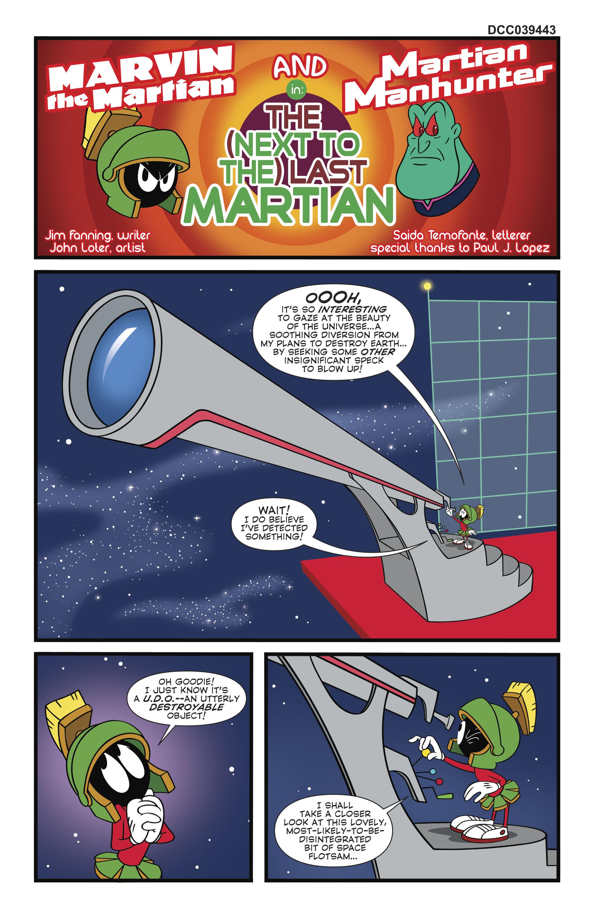 Read online Martian Manhunter/Marvin the Martian Special comic -  Issue # Full - 34