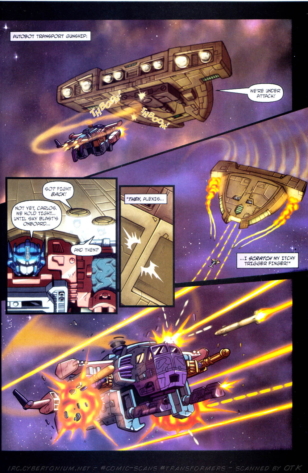 Read online Transformers Armada comic -  Issue #11 - 21