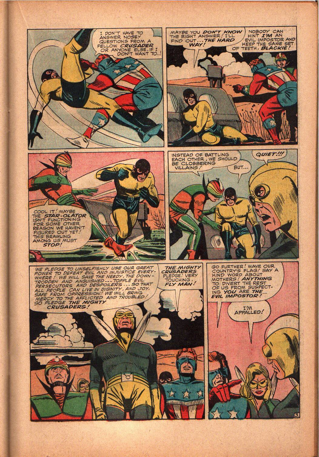 The Mighty Crusaders (1965) Issue #3 #3 - English 12