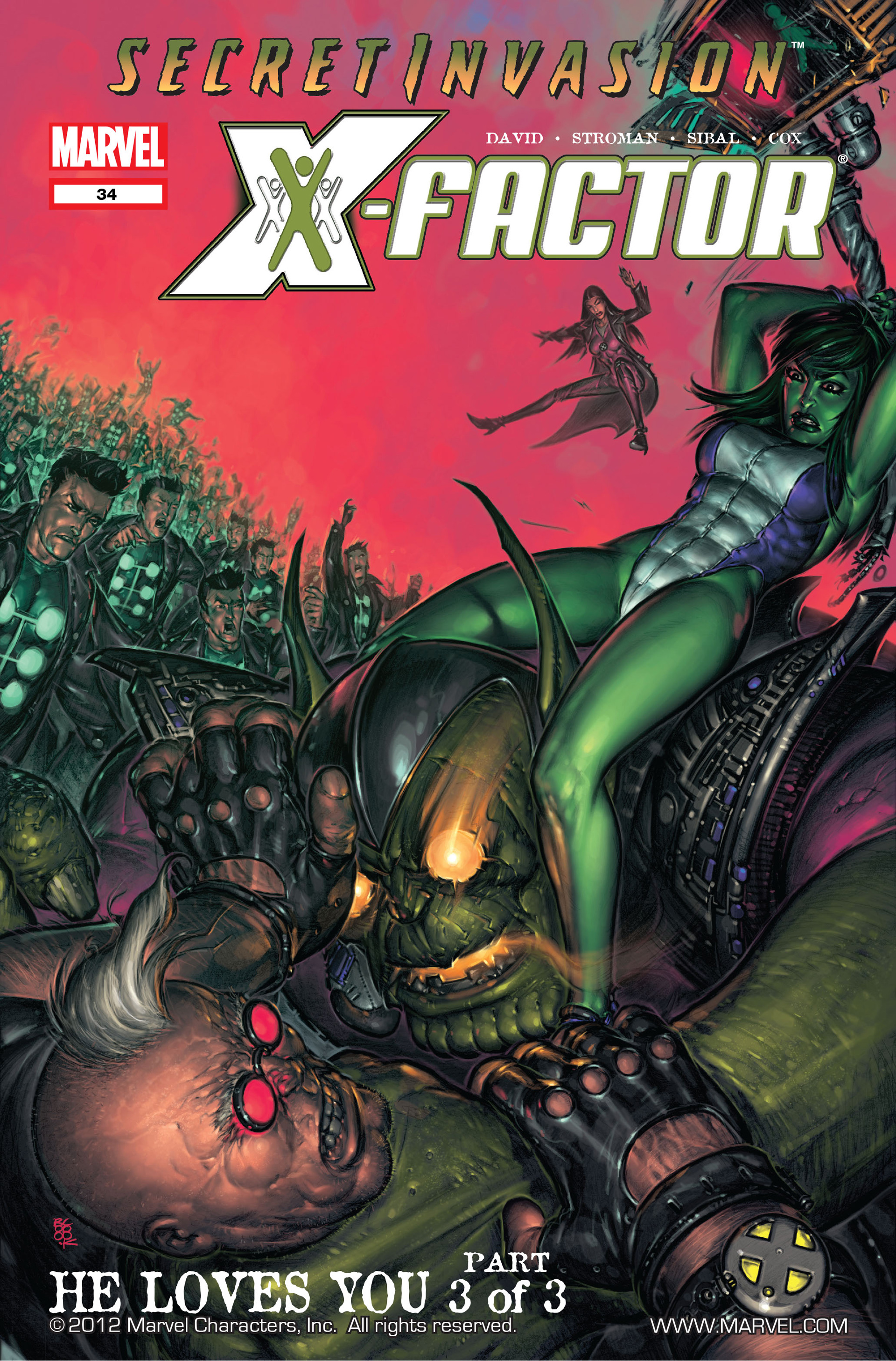 Read online X-Factor (2006) comic -  Issue #34 - 1