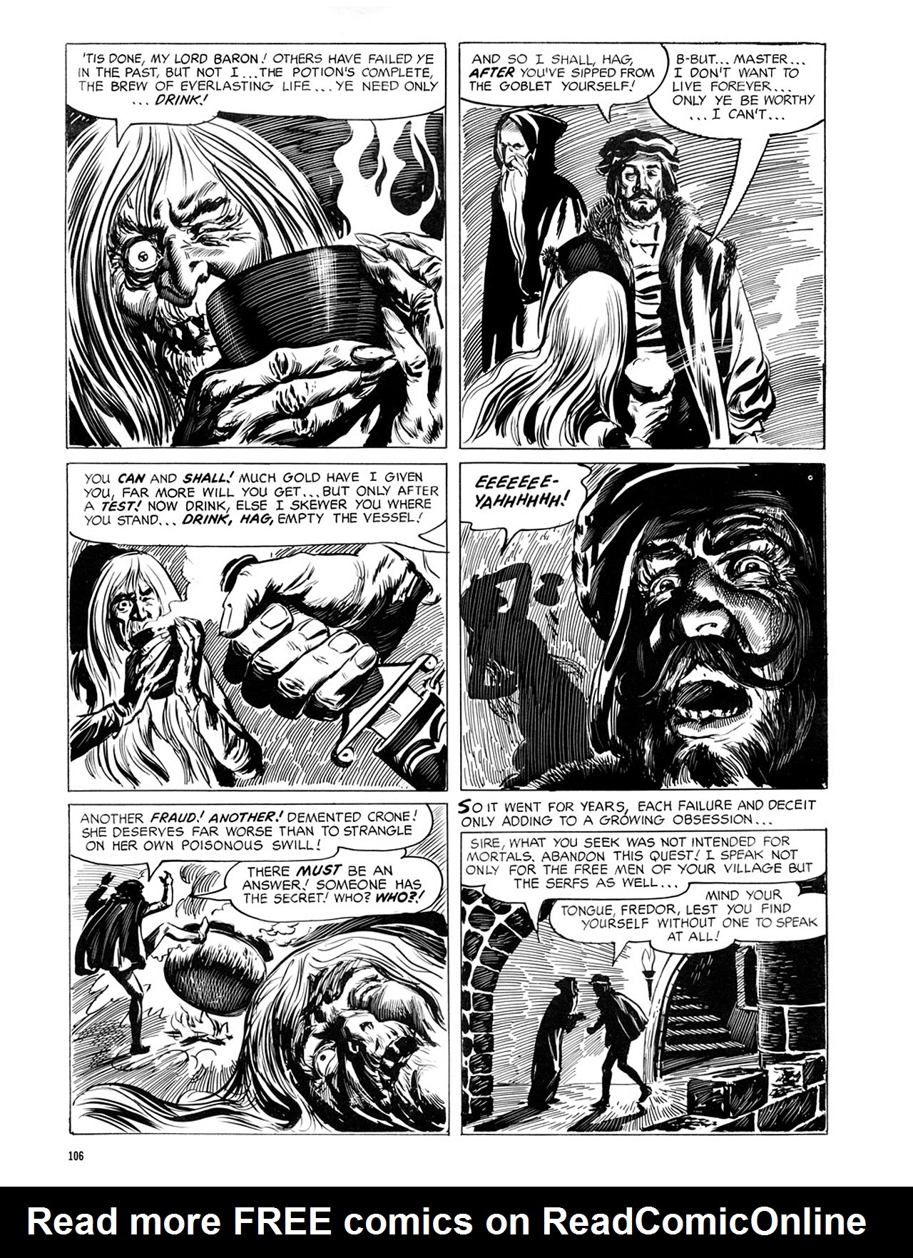 Read online Eerie Archives comic -  Issue # TPB 2 - 107
