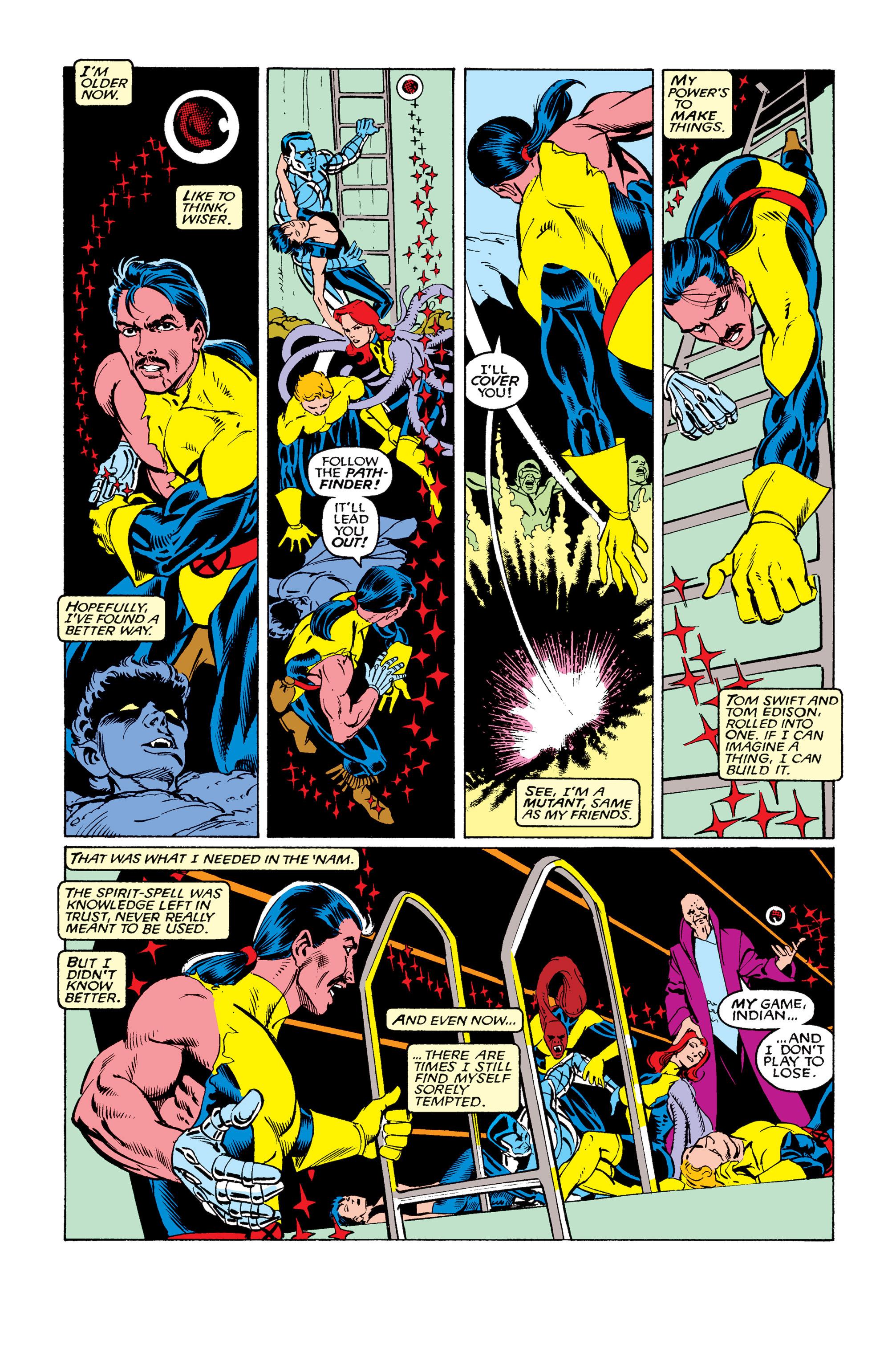 Read online Uncanny X-Men (1963) comic -  Issue #263 - 20