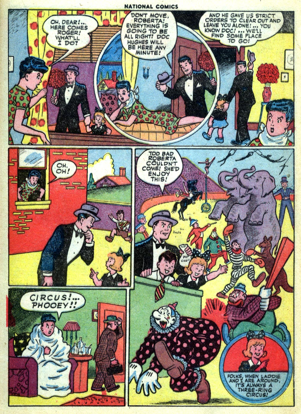 National Comics (1940) issue 47 - Page 21