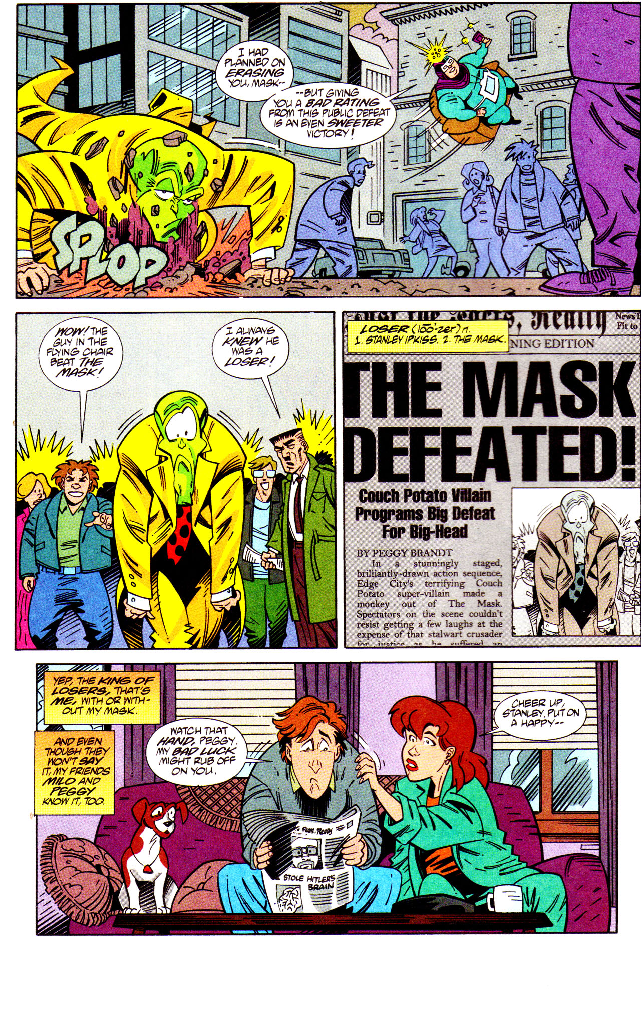 Read online Adventures Of The Mask comic -  Issue #7 - 18