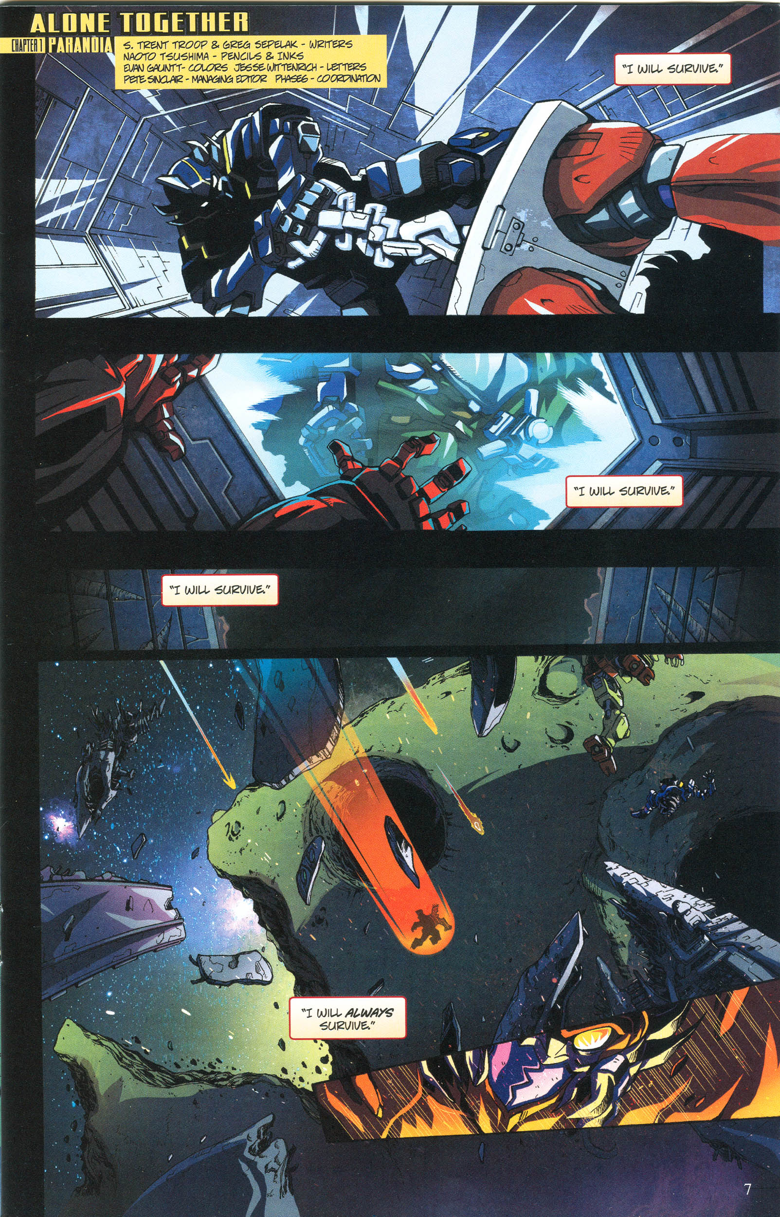 Read online Transformers: Collectors' Club comic -  Issue #56 - 7