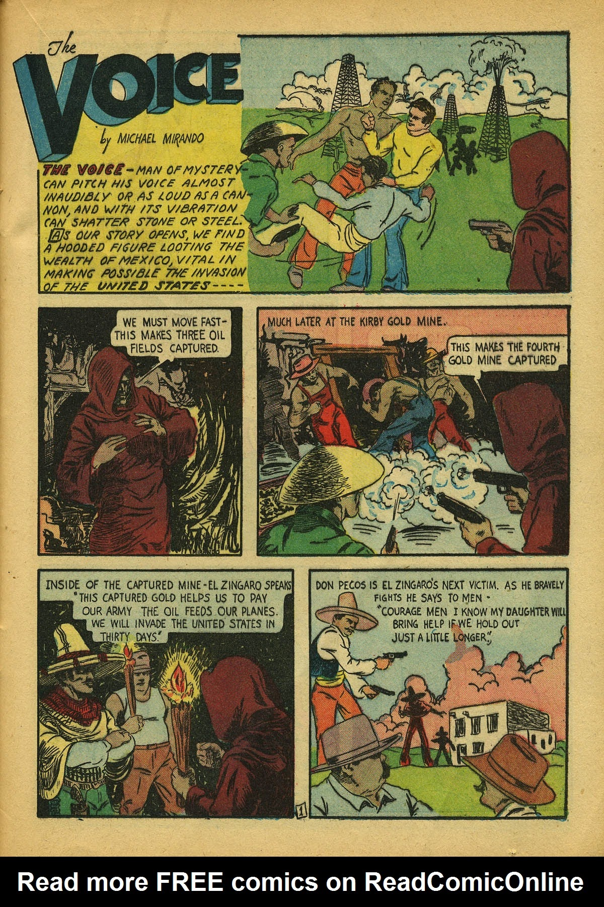 Read online Amazing Man Comics comic -  Issue #22 - 48