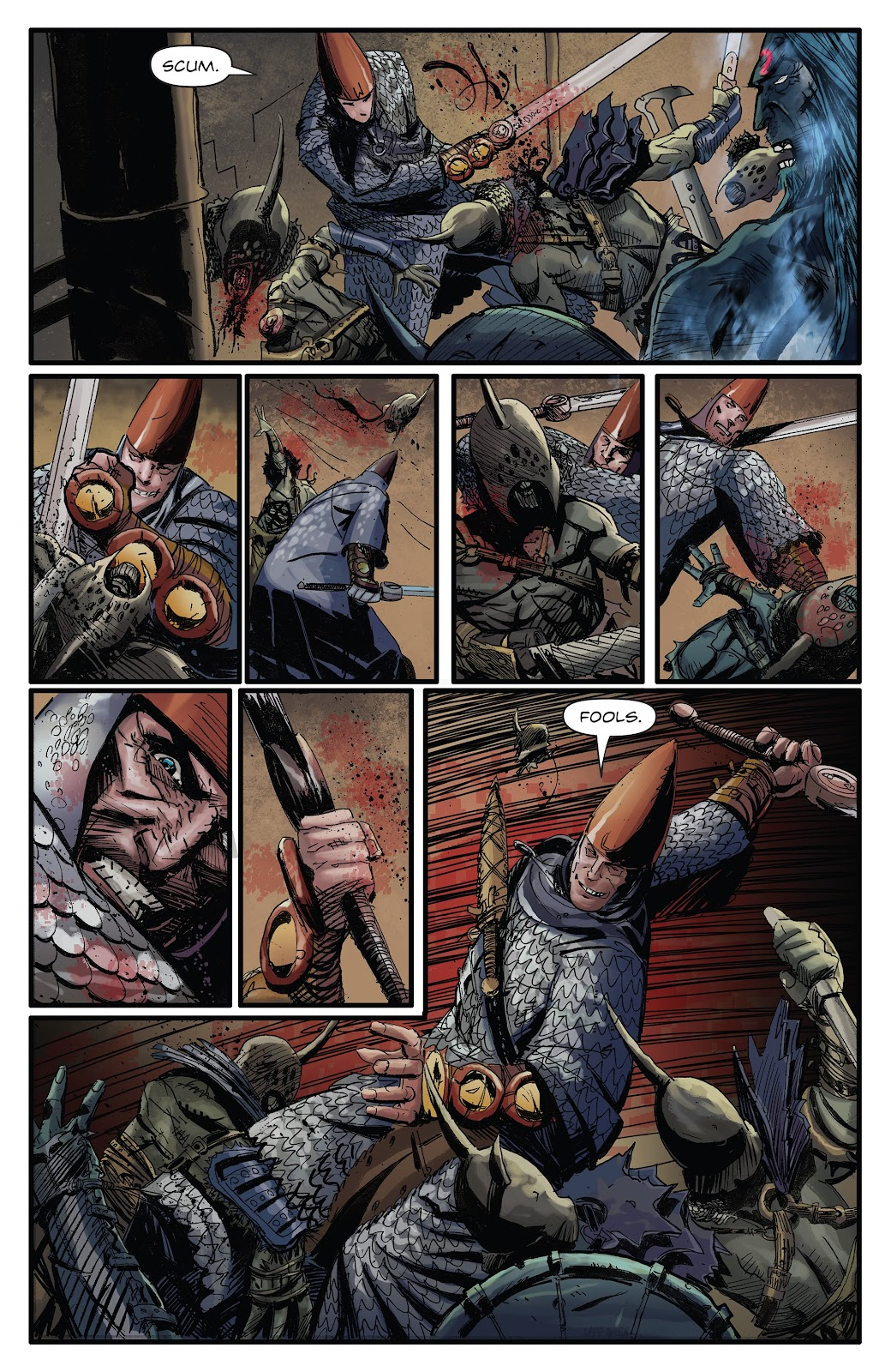 Read online Giantkillers One-Shot comic -  Issue # Full - 11