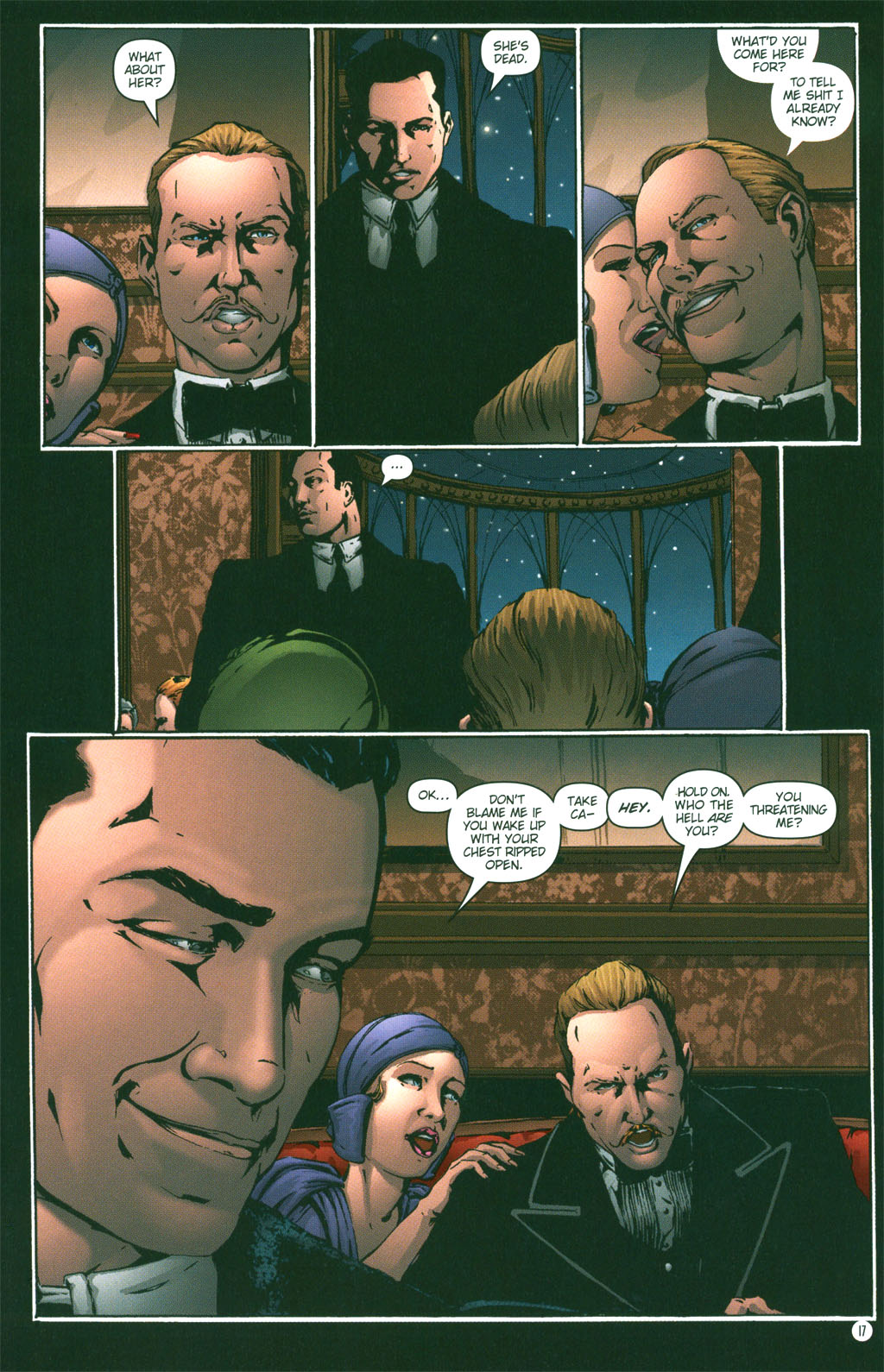 Read online Rex Mundi comic -  Issue #3 - 19