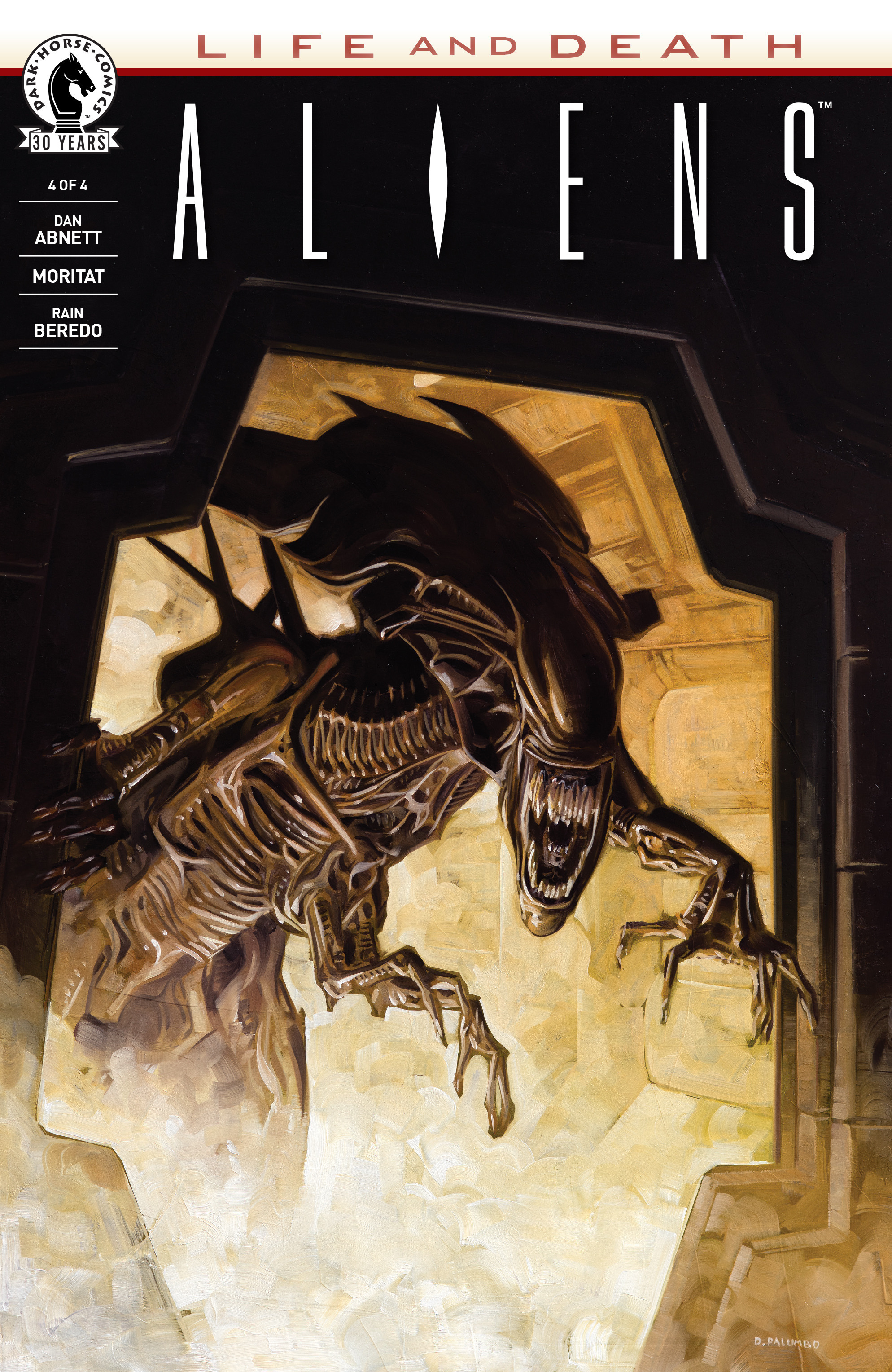 Read online Aliens: Life And Death comic -  Issue #4 - 1