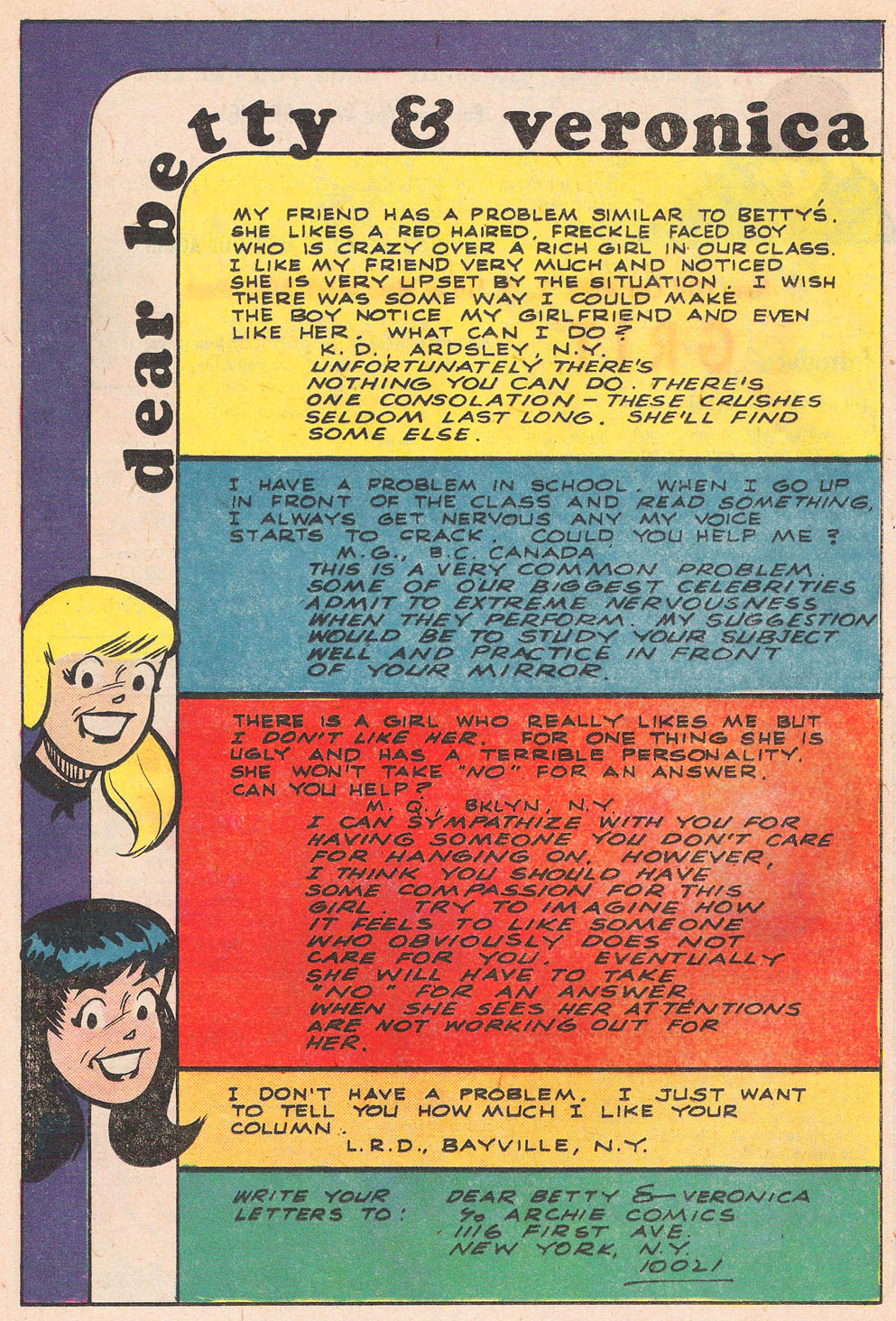 Read online Archie's Girls Betty and Veronica comic -  Issue #257 - 26