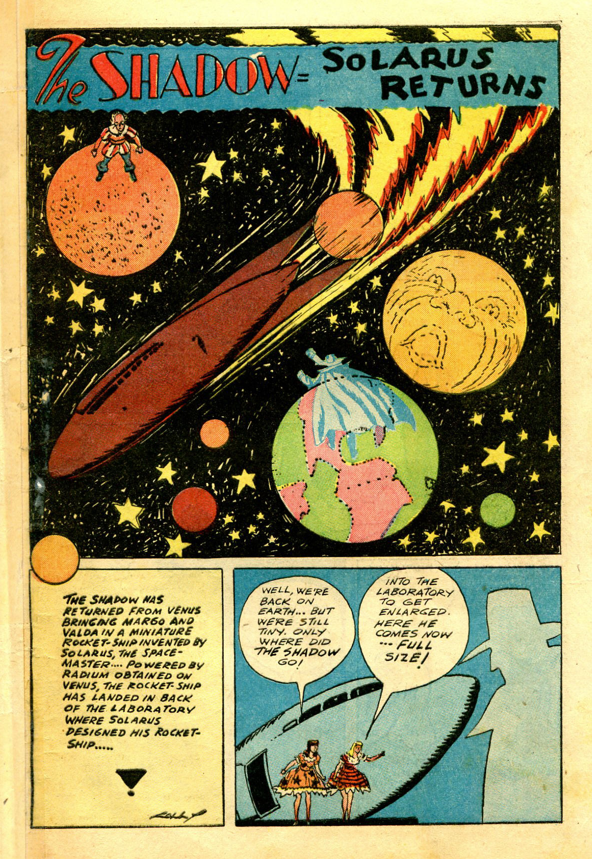 Read online Shadow Comics comic -  Issue #43 - 51
