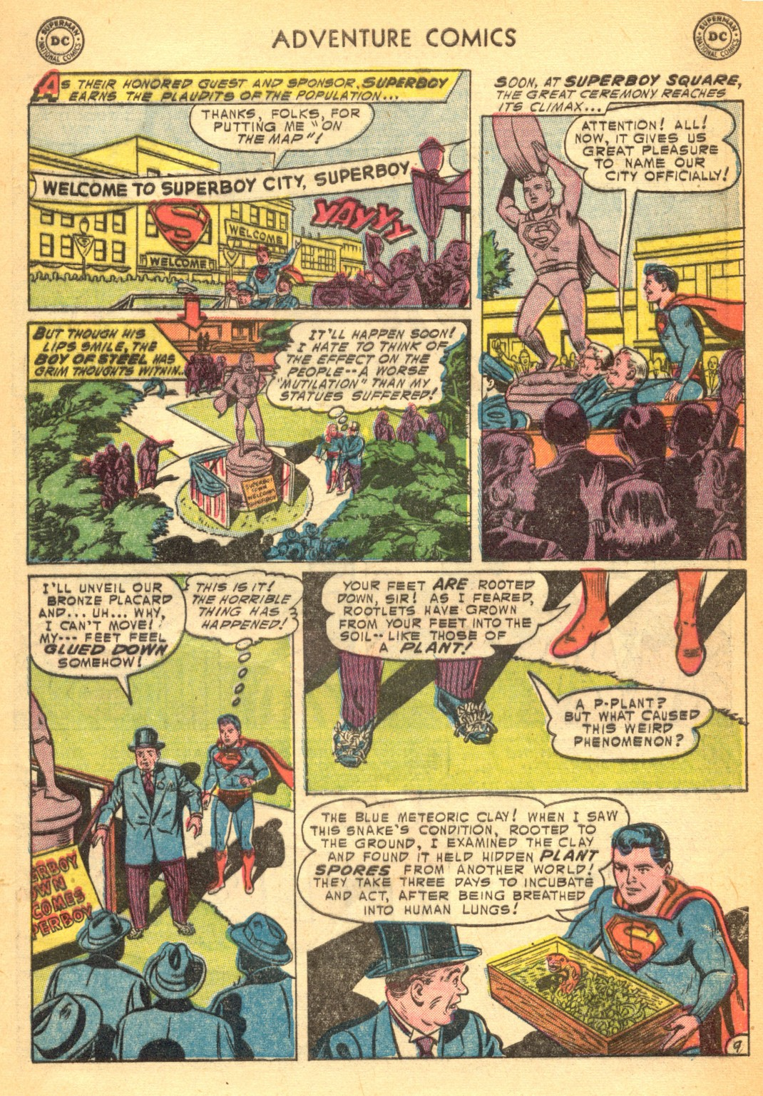 Read online Adventure Comics (1938) comic -  Issue #202 - 11