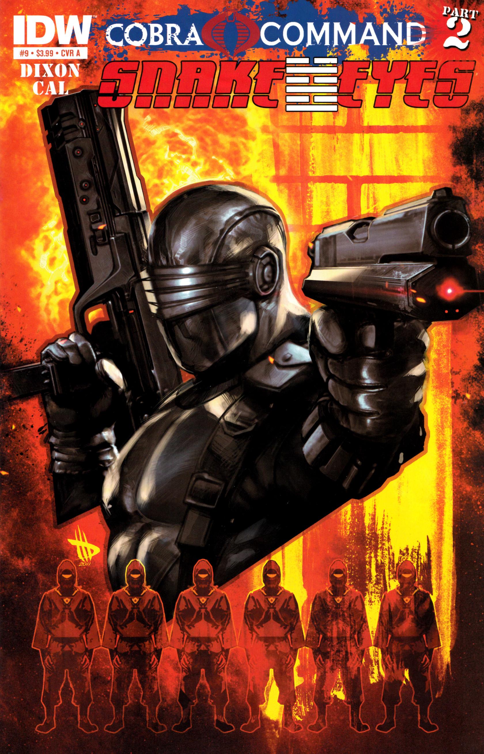 Read online G.I. Joe: Snake Eyes comic -  Issue #9 - 1