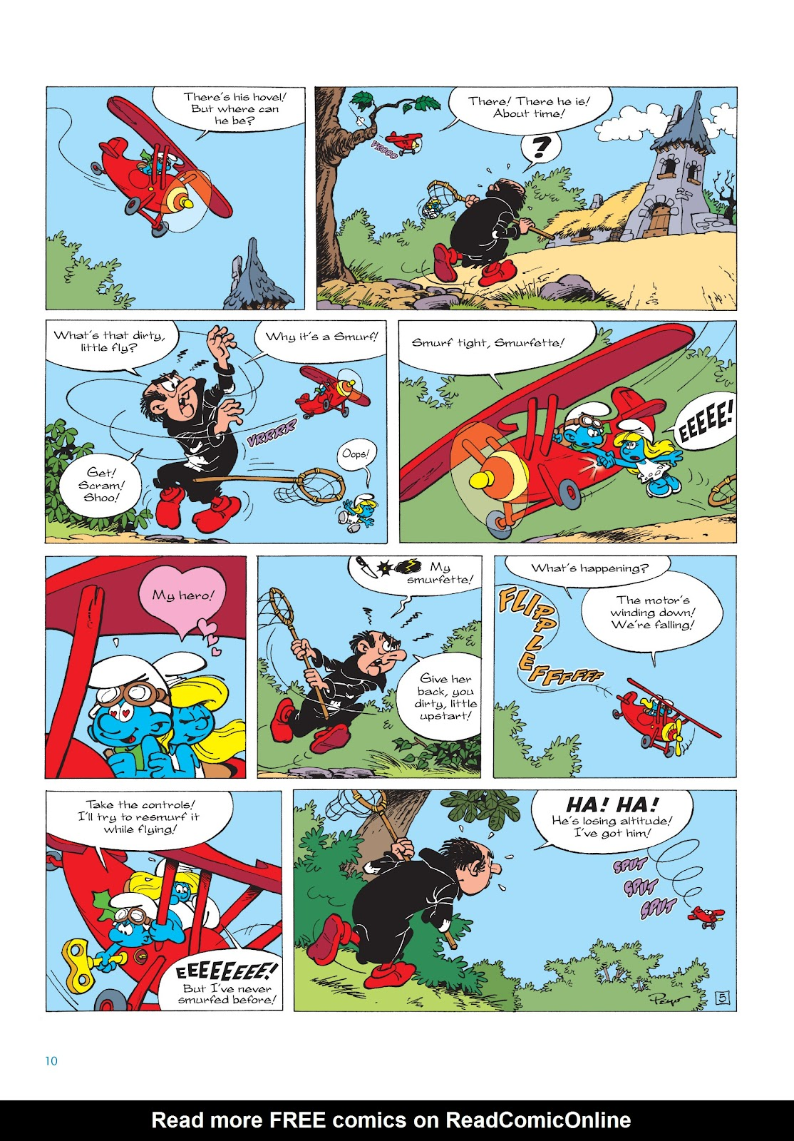 Read online The Smurfs comic -  Issue #16 - 11