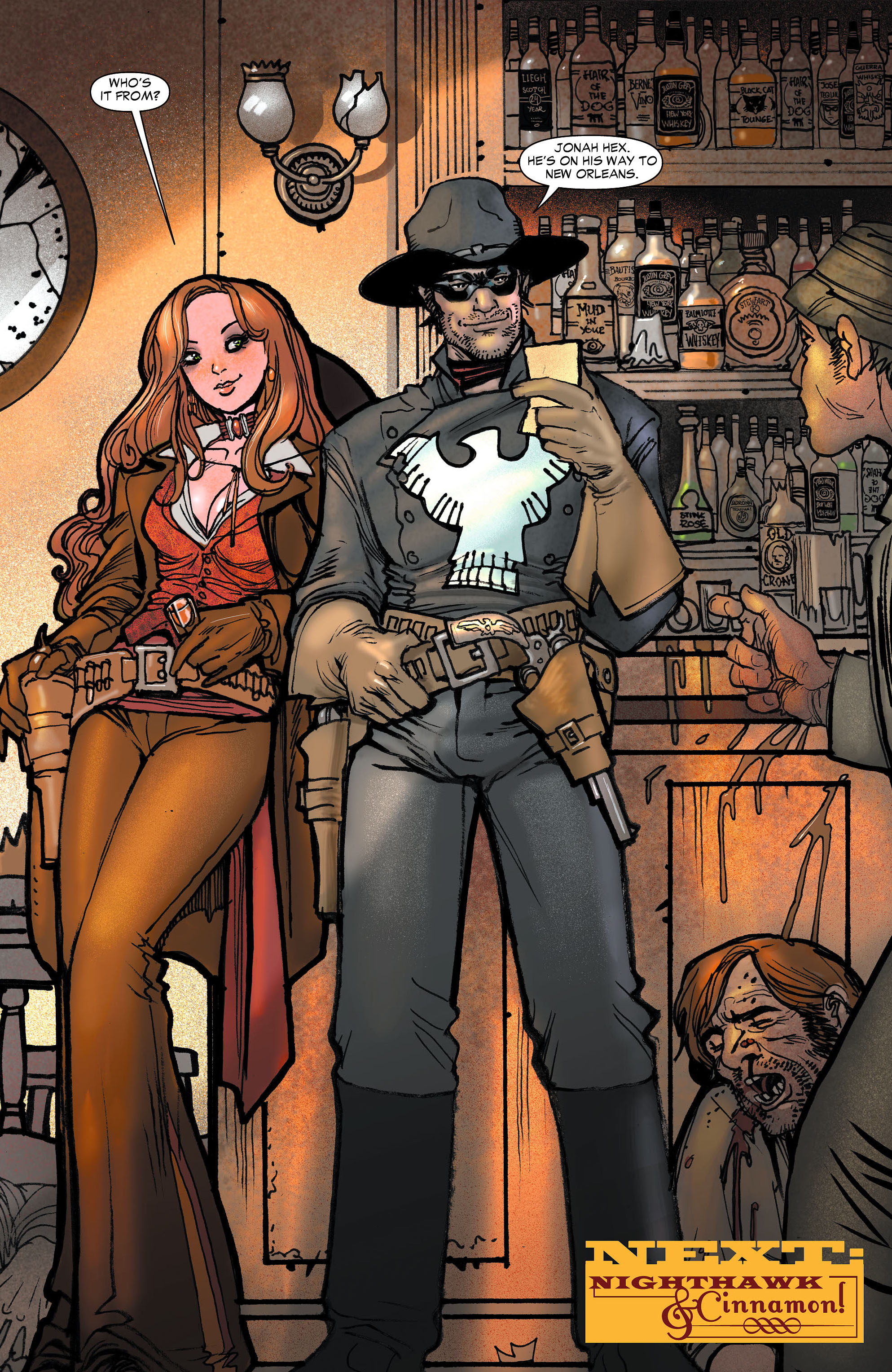 Read online All-Star Western (2011) comic -  Issue #6 - 21
