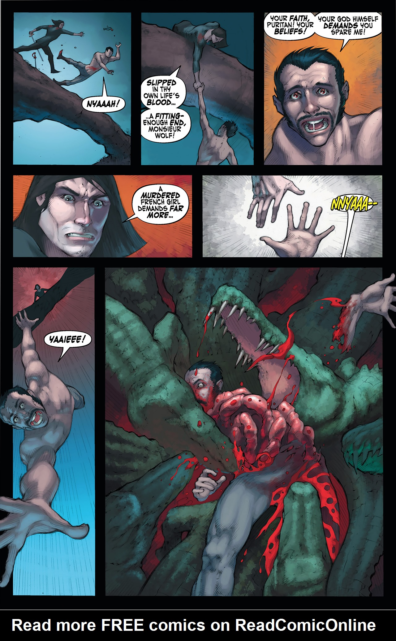 Read online Solomon Kane: Red Shadows comic -  Issue #4 - 21