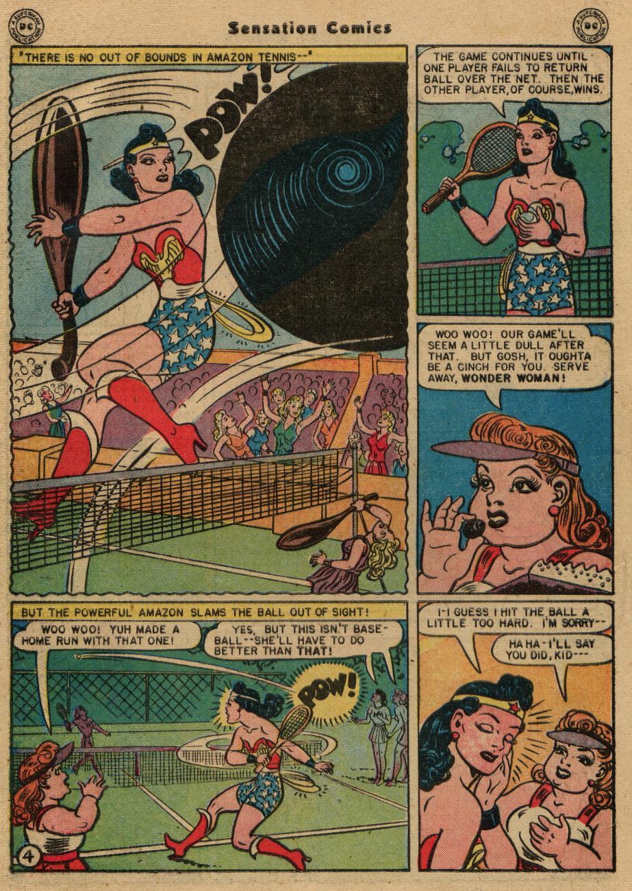 Read online Sensation (Mystery) Comics comic -  Issue #61 - 6