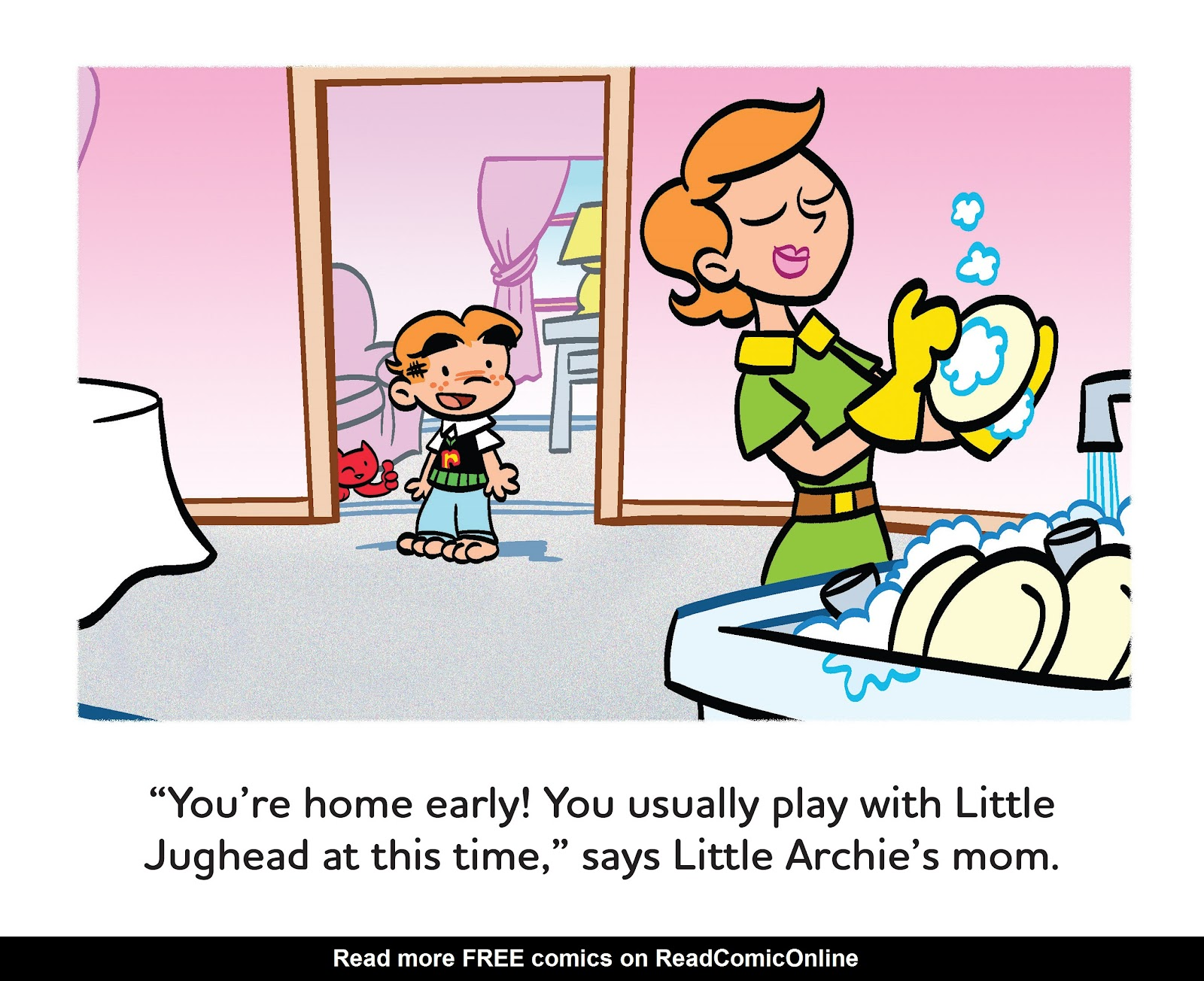 Read online Little Archie's Lucky Day comic -  Issue # Full - 22