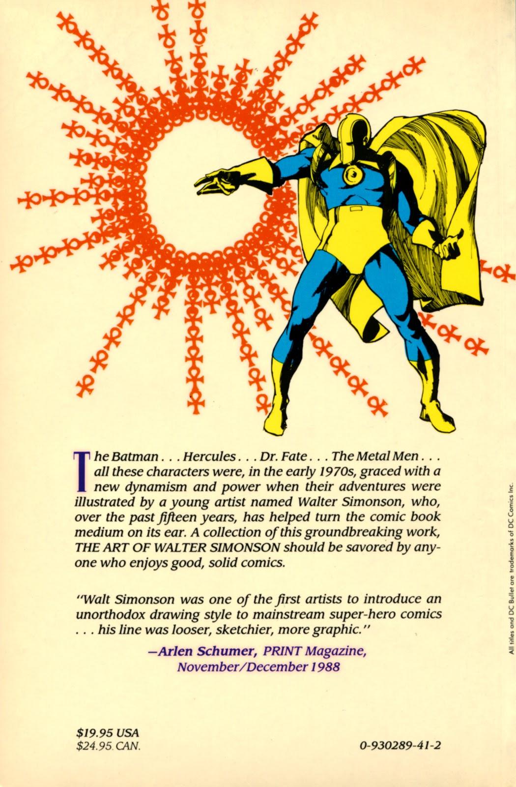 Read online The Art of Walter Simonson comic -  Issue # TPB - 107