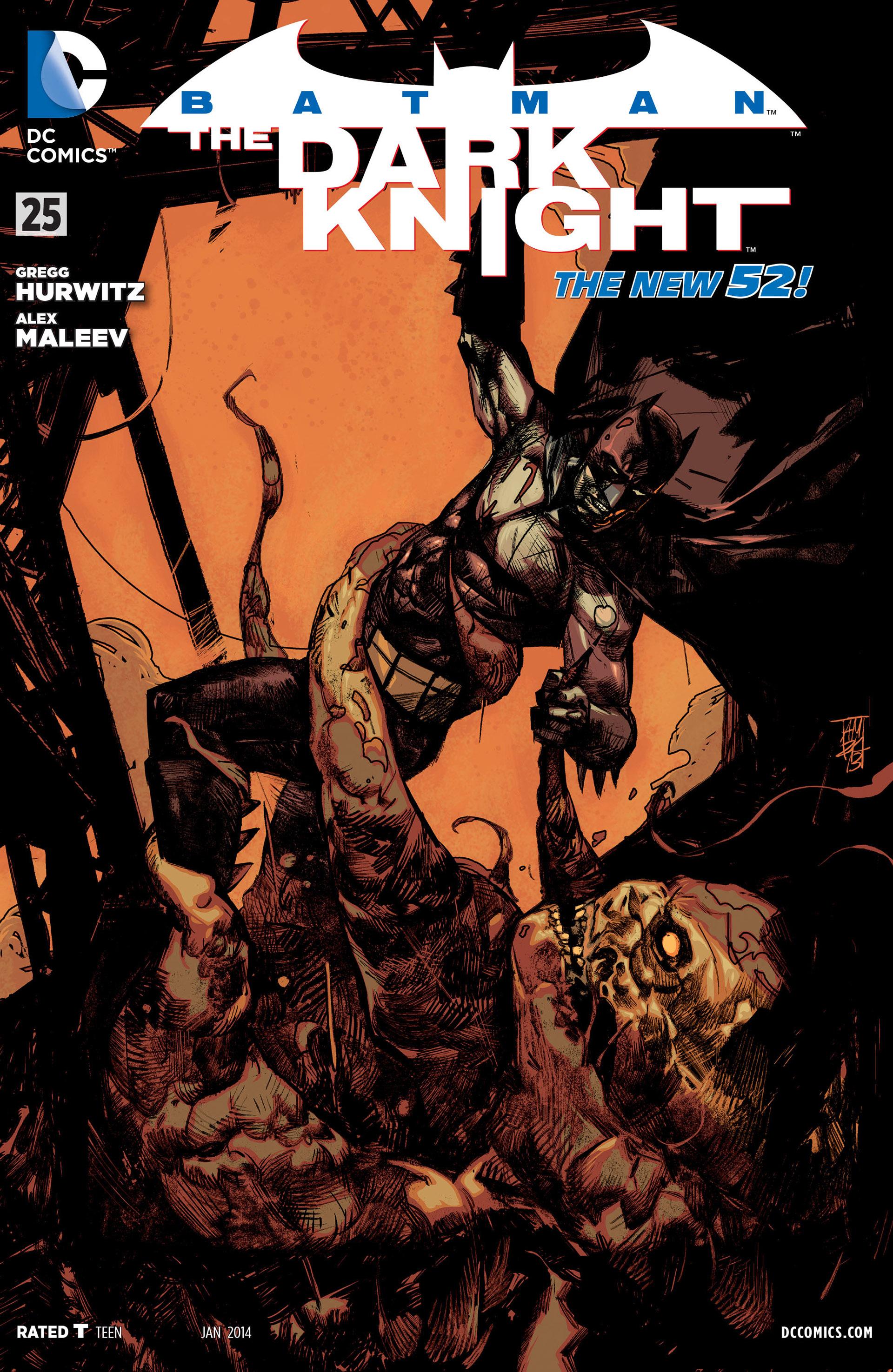 Batman: The Dark Knight [II] (2011) 25 Page 1