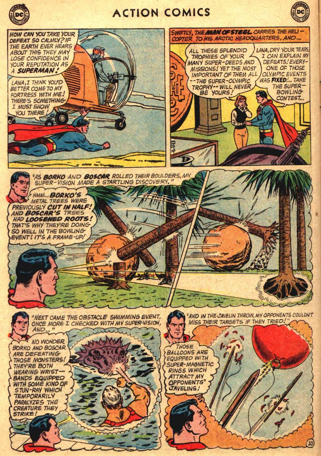 Read online Action Comics (1938) comic -  Issue #304 - 12