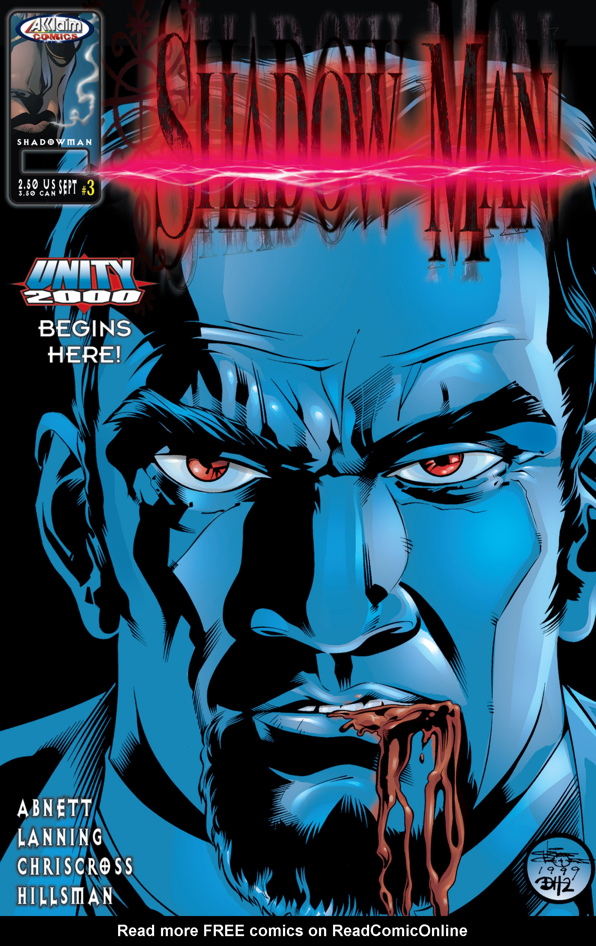Read online Shadowman (1999) comic -  Issue #3 - 1